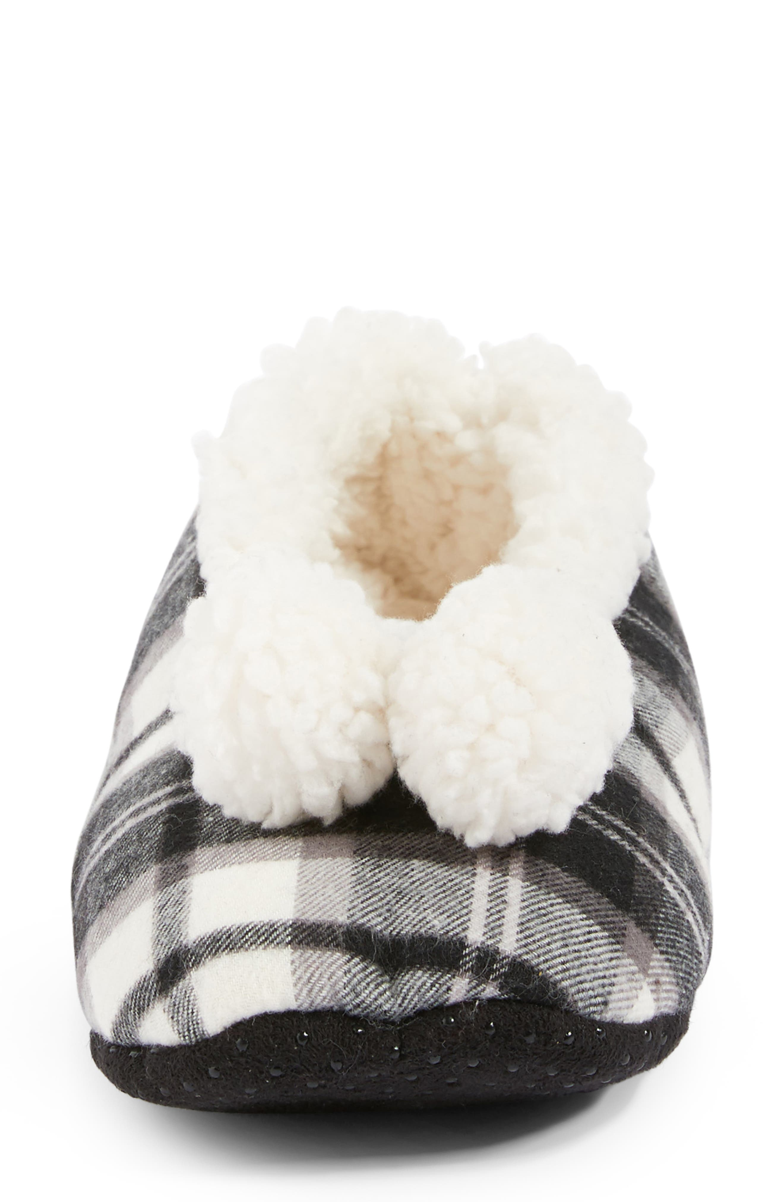 Plaid Slippers,                             Alternate thumbnail 4, color,                             002