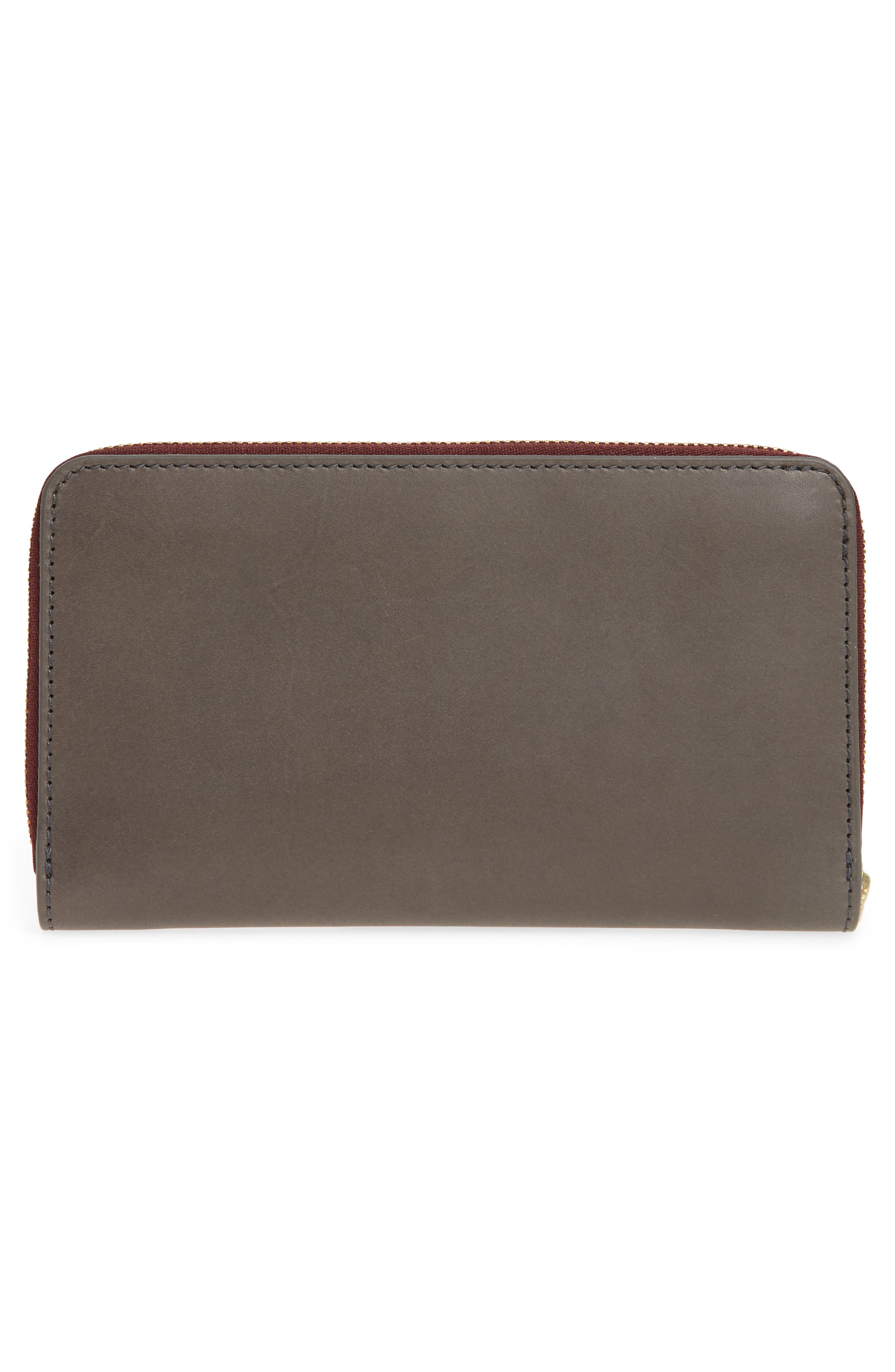 Compact Continental Wallet,                             Alternate thumbnail 3, color,                             021