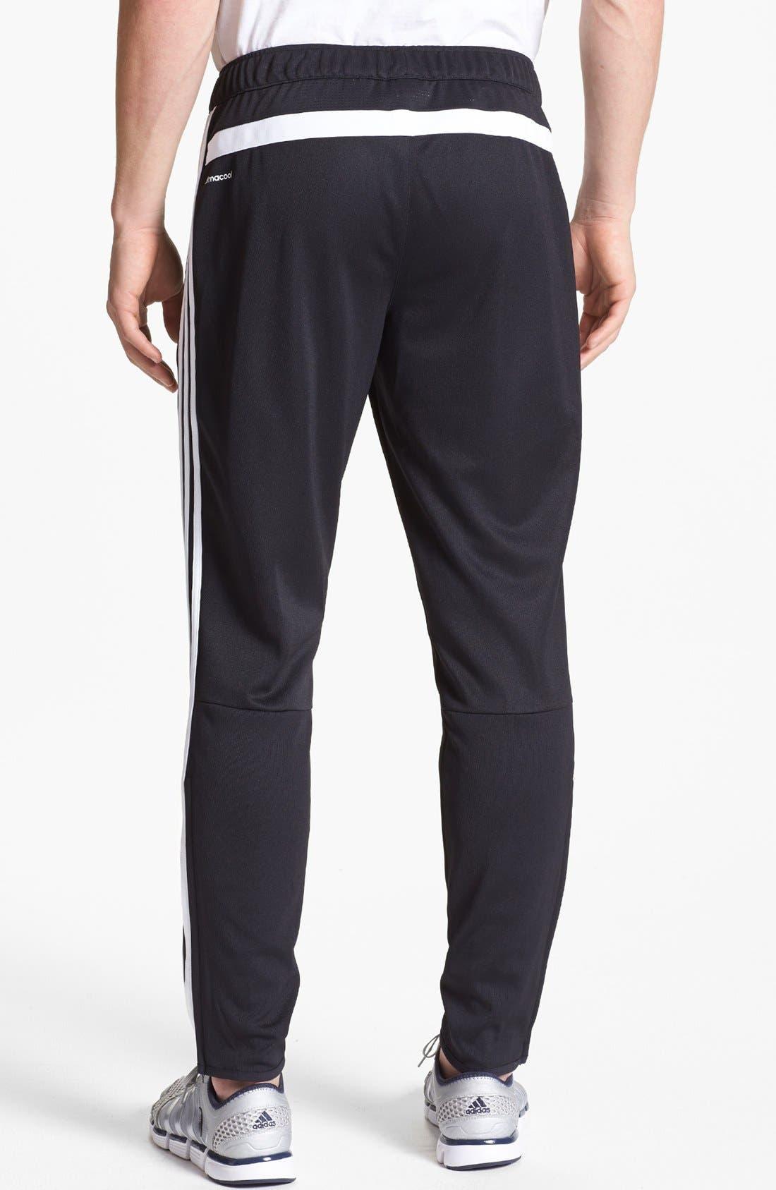 ADIDAS,                             'Tiro 13' Slim Fit Training Pants,                             Alternate thumbnail 4, color,                             001