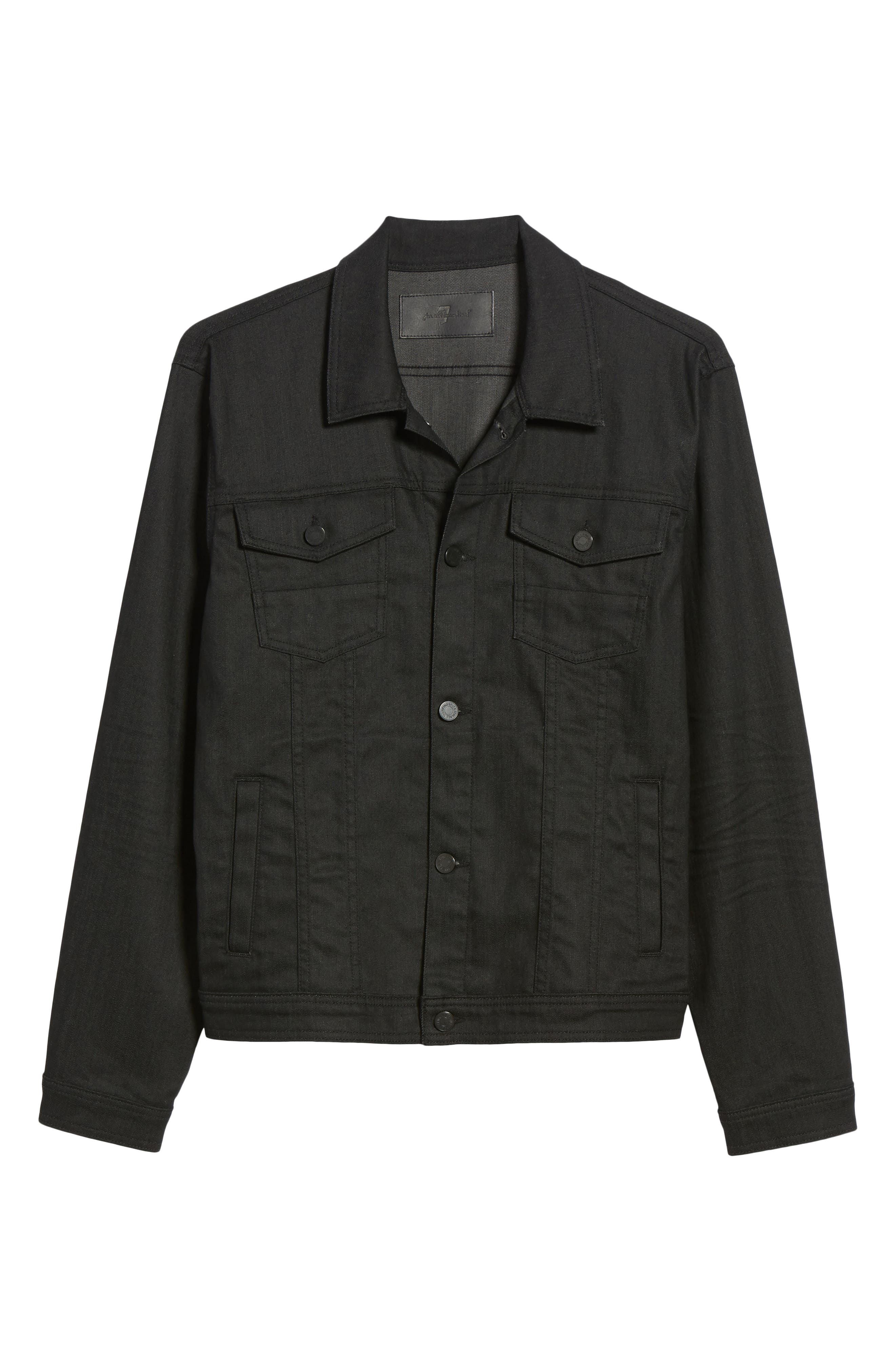 Denim Jacket,                             Alternate thumbnail 5, color,                             004