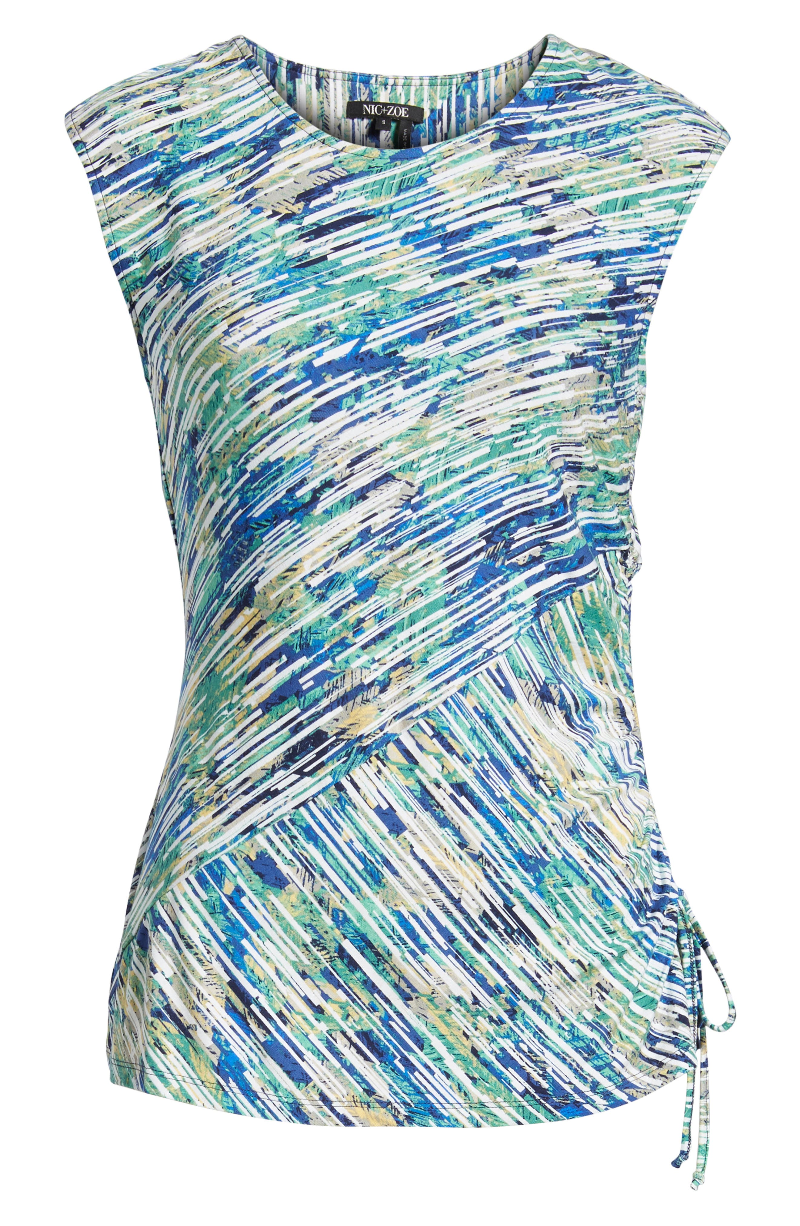 Mirage Ruched Tank,                             Alternate thumbnail 7, color,
