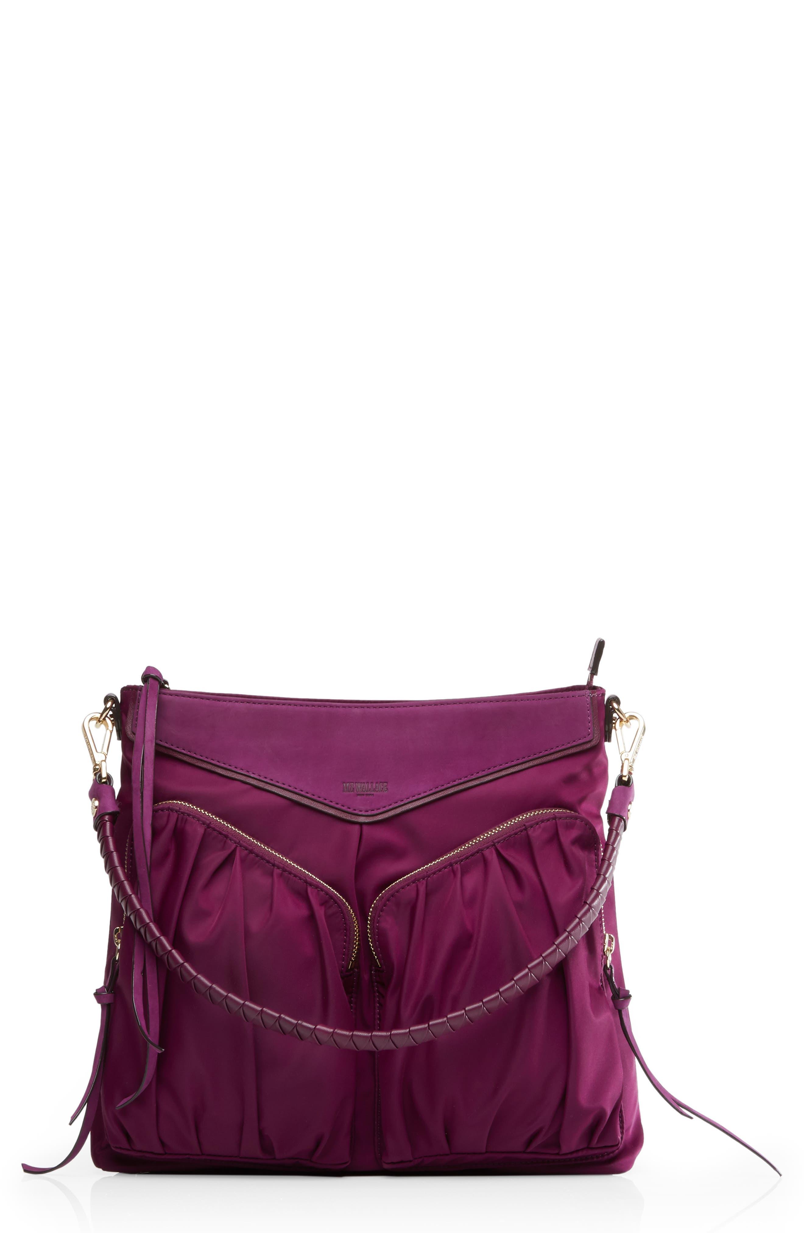 Thompson Hobo - Purple in Elderberry Bedford