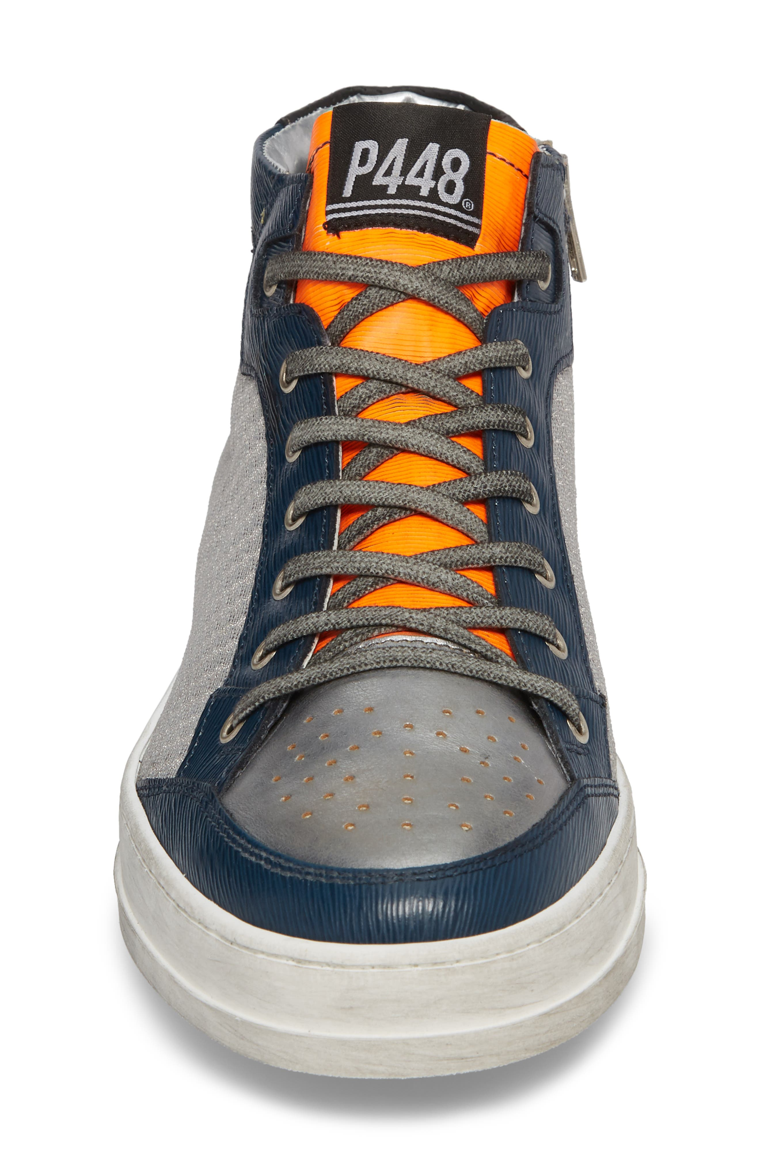 Love High Top Sneaker,                             Alternate thumbnail 4, color,                             020
