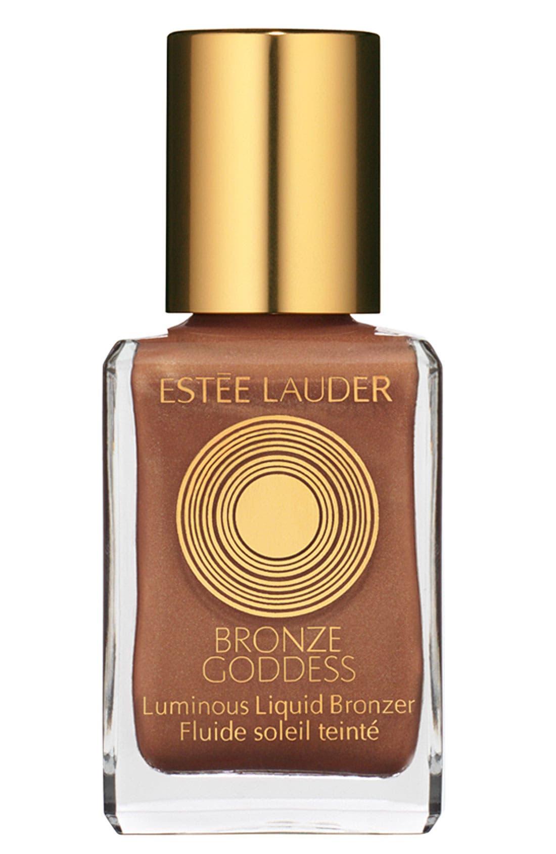 ESTÉE LAUDER 'Bronze Goddess' Luminous Liquid Bronzer, Main, color, 250