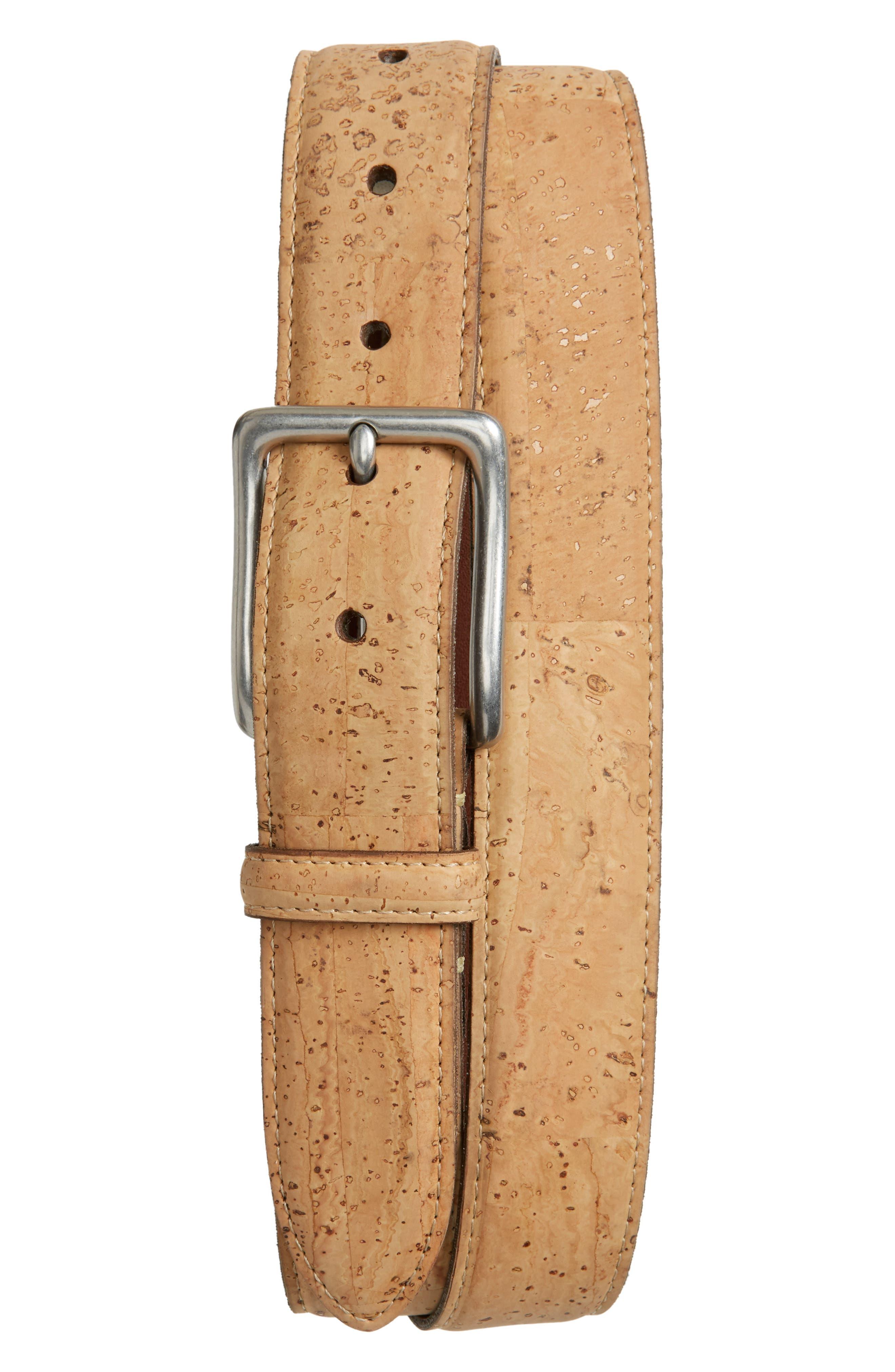 Torino Belts Cork Belt, Natural