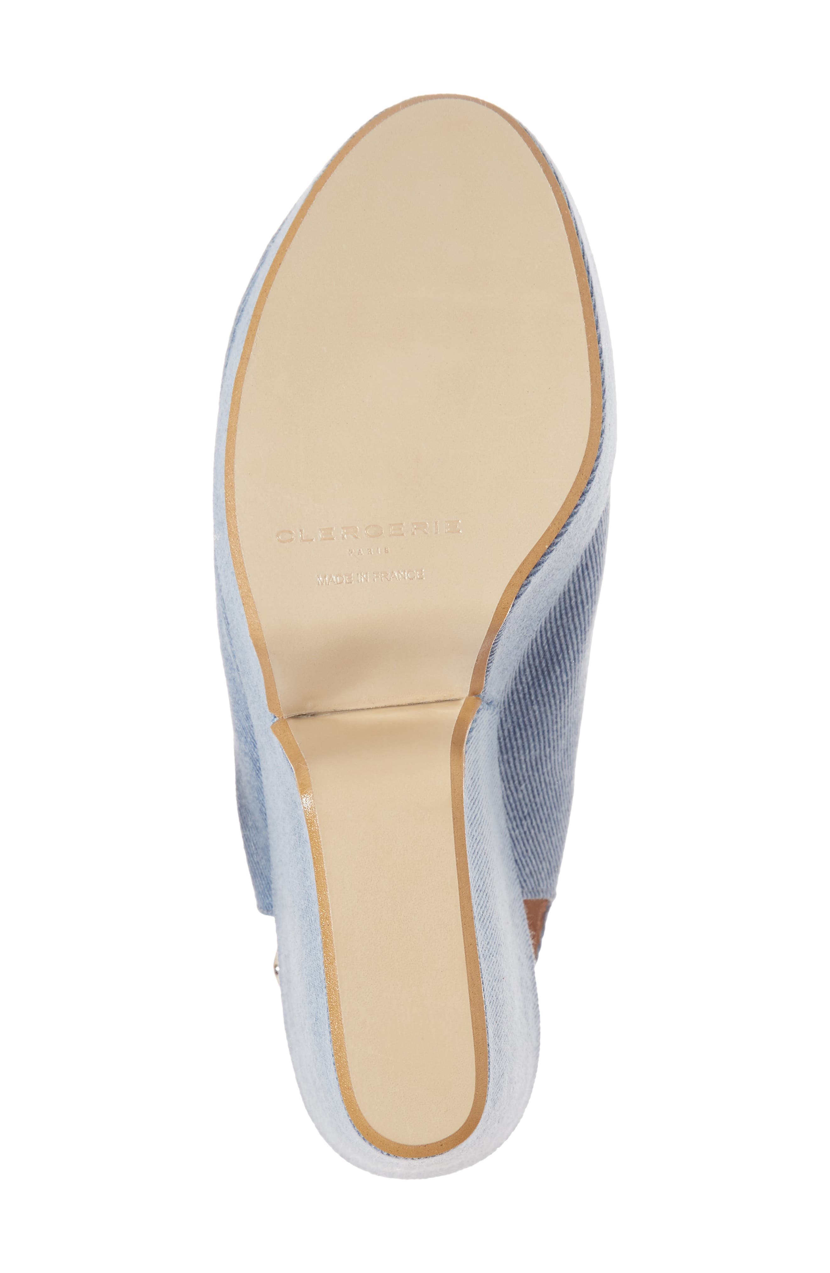 Dylanto Platform Wedge Sandal,                             Alternate thumbnail 6, color,