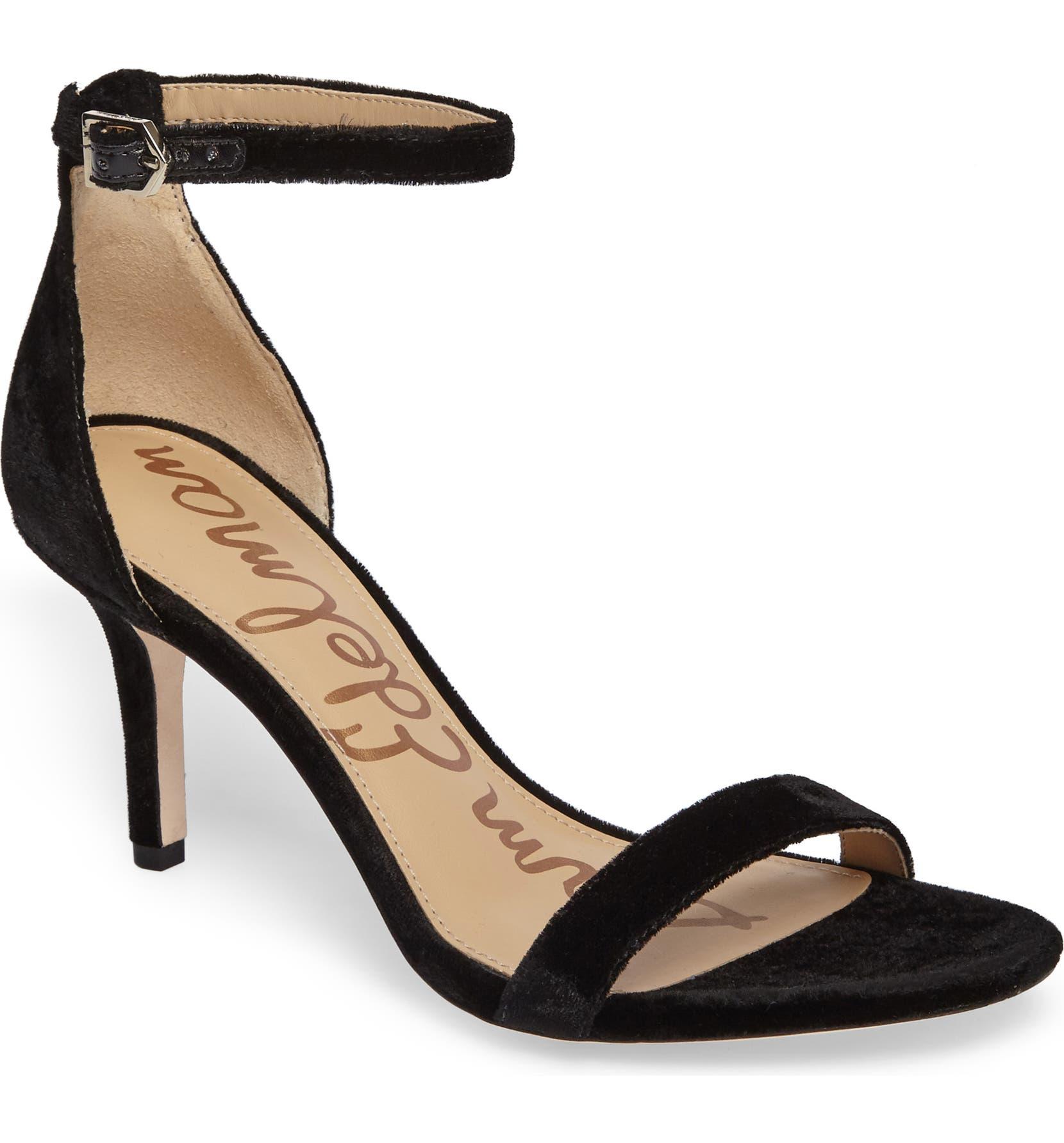 e7477ef4c2b087 Sam Edelman  Patti  Ankle Strap Sandal (Women)