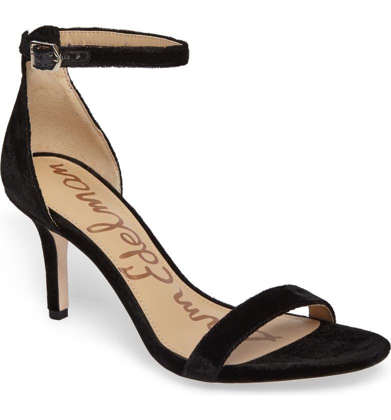 Order Sam Edelman Patti Ankle Strap Sandal (Women) Buying and Reviews