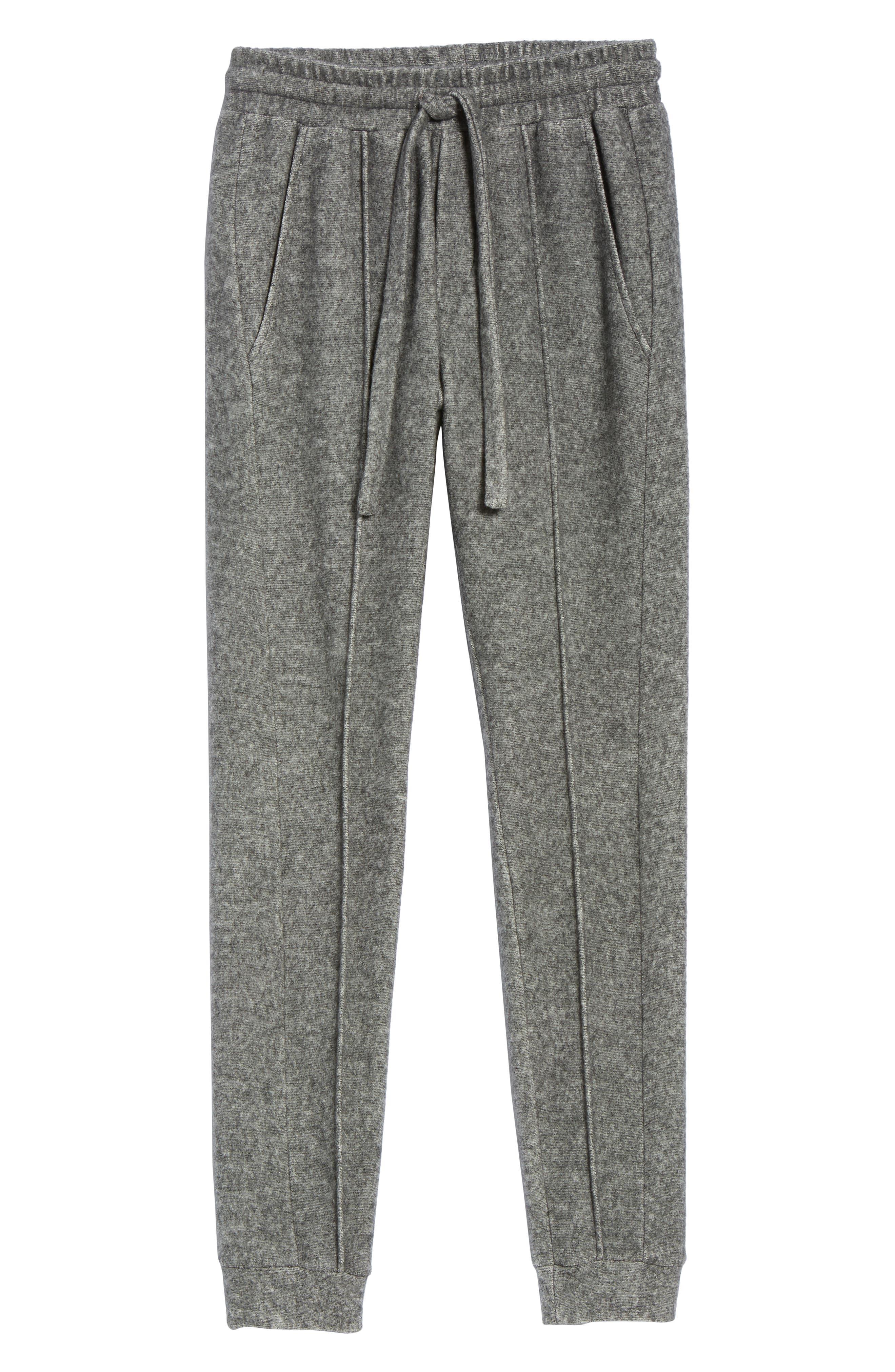 Maddux Slim Fit Jogger Pants,                             Alternate thumbnail 6, color,                             HEATHER GREY