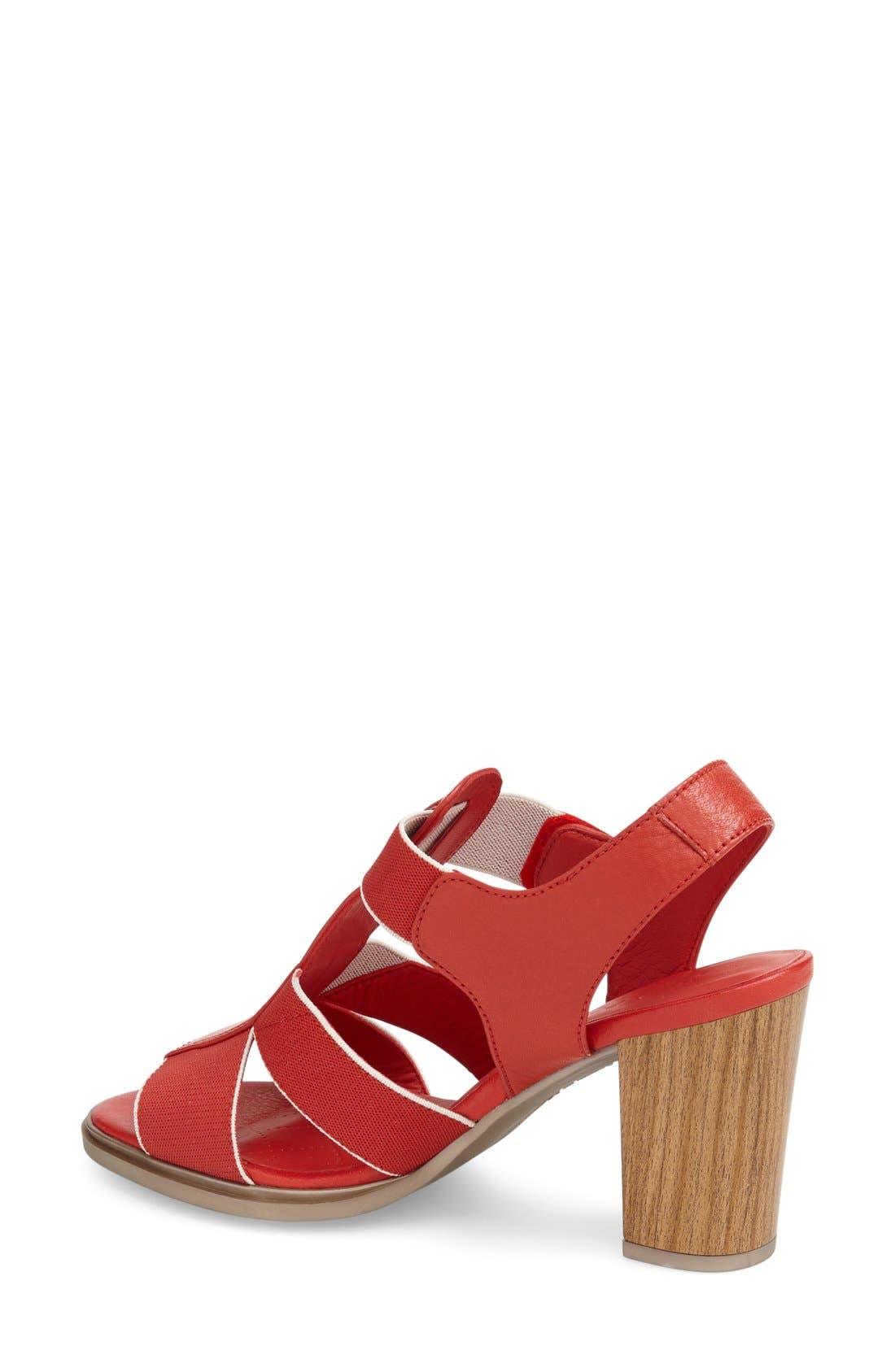 'Matchless' Sandal,                             Alternate thumbnail 4, color,