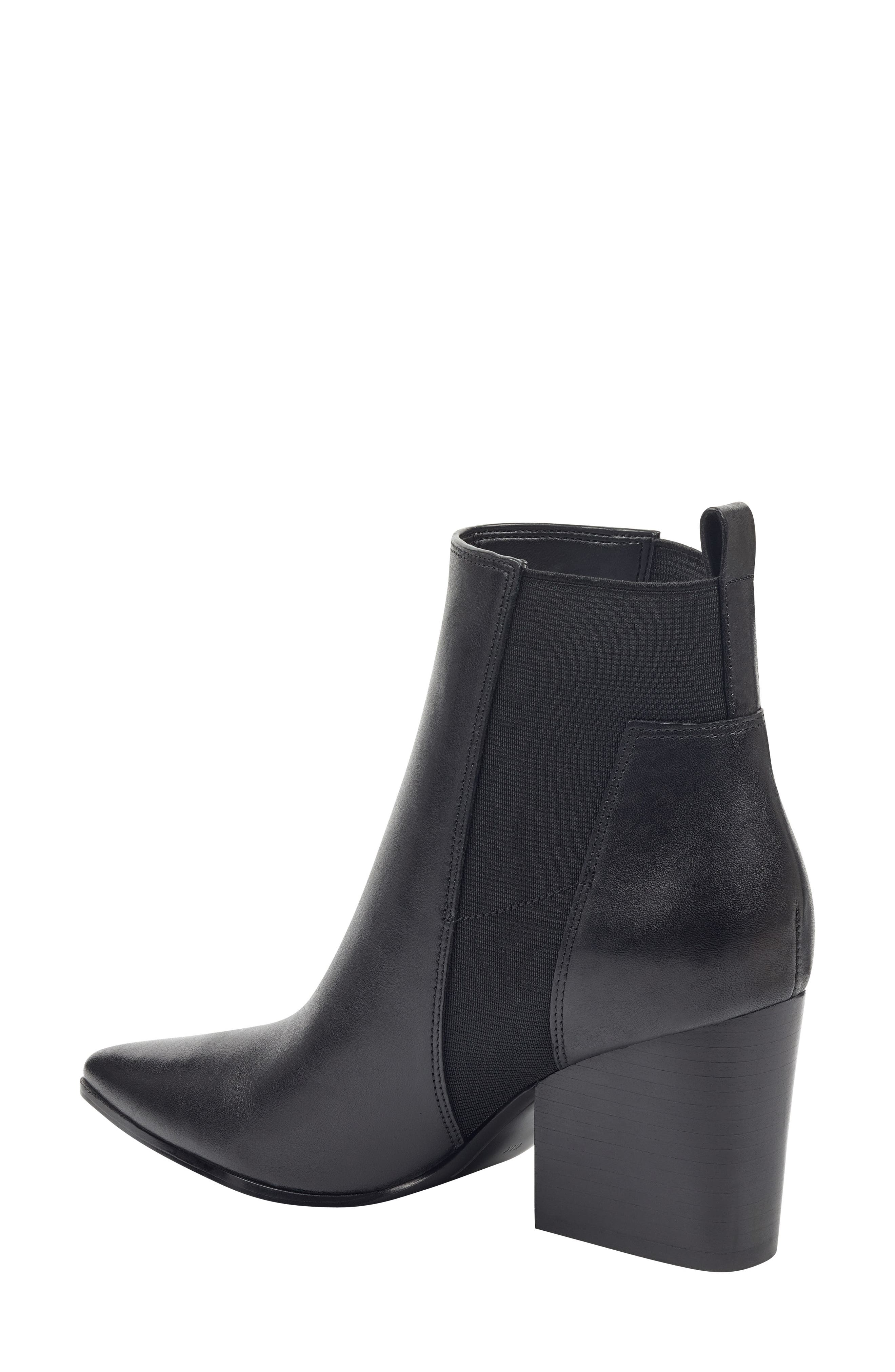 Pointy Toe Chelsea Bootie,                             Alternate thumbnail 2, color,                             001