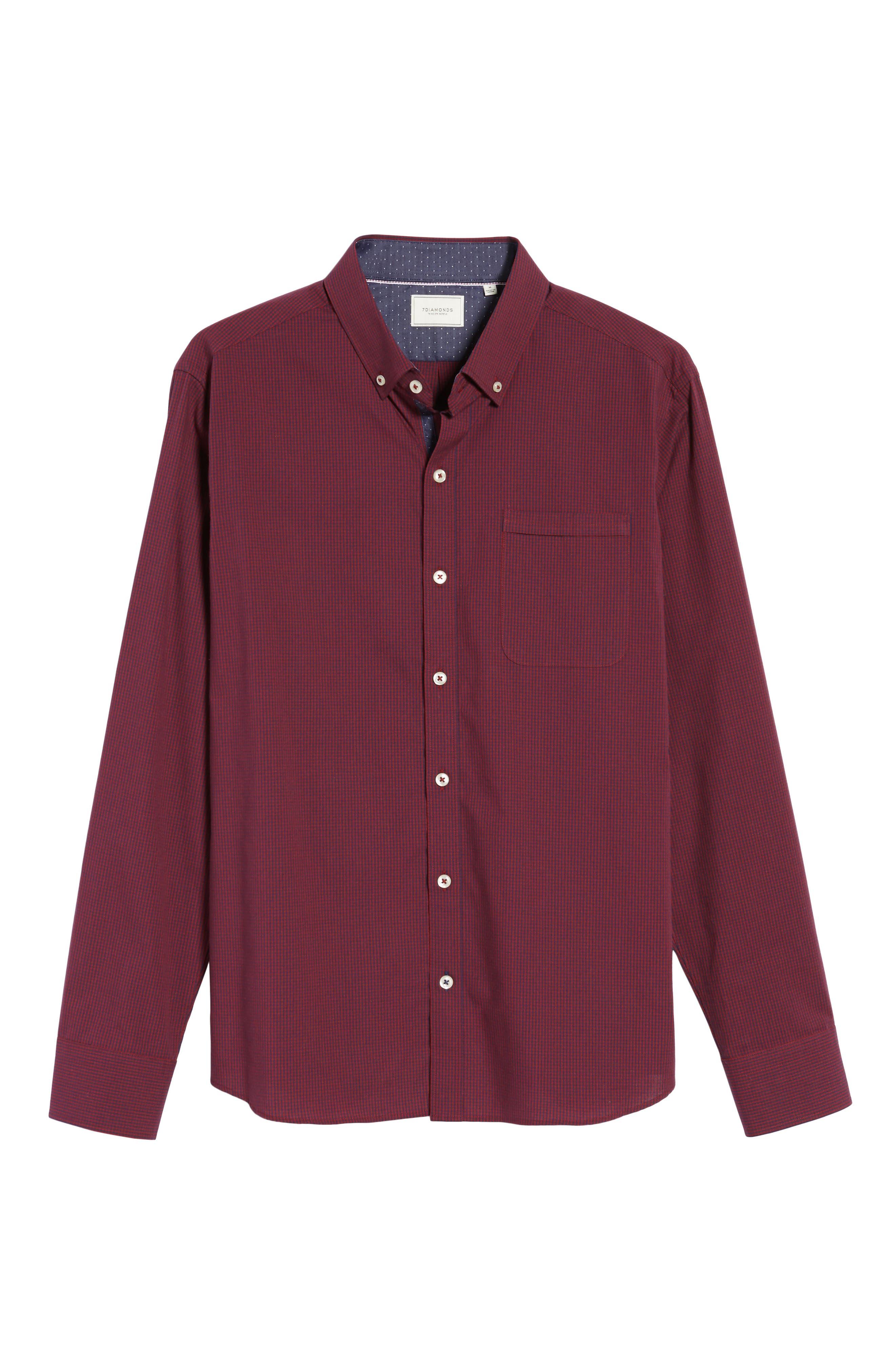 Oracle Woven Shirt,                             Alternate thumbnail 6, color,                             600