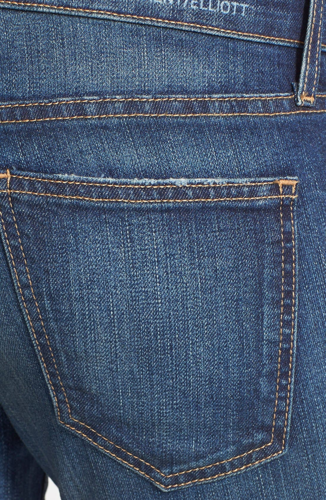 'The Stiletto' Destroyed Skinny Jeans,                             Alternate thumbnail 16, color,