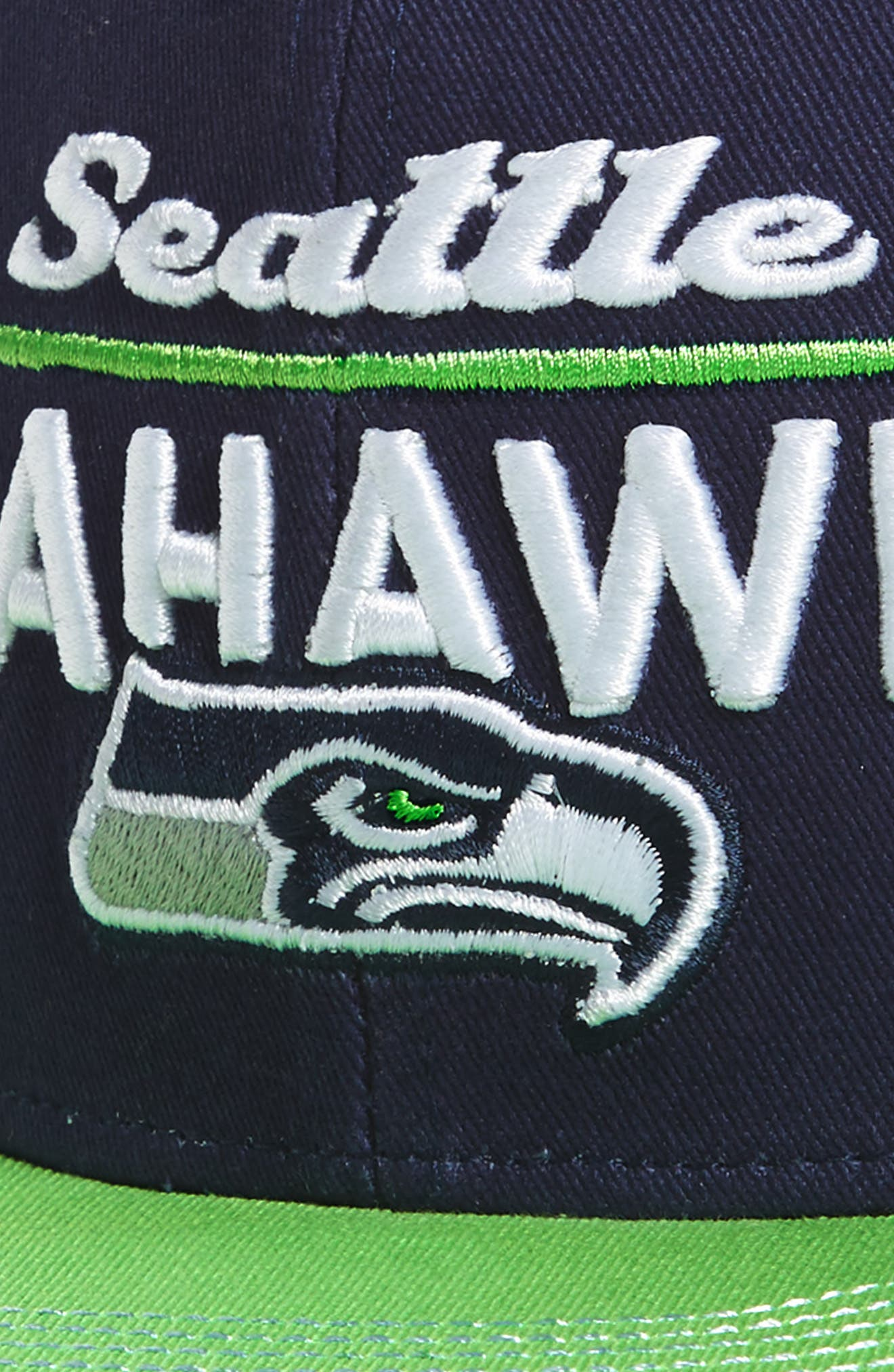 NFL Logo Retro Bar Baseball Cap,                             Alternate thumbnail 36, color,