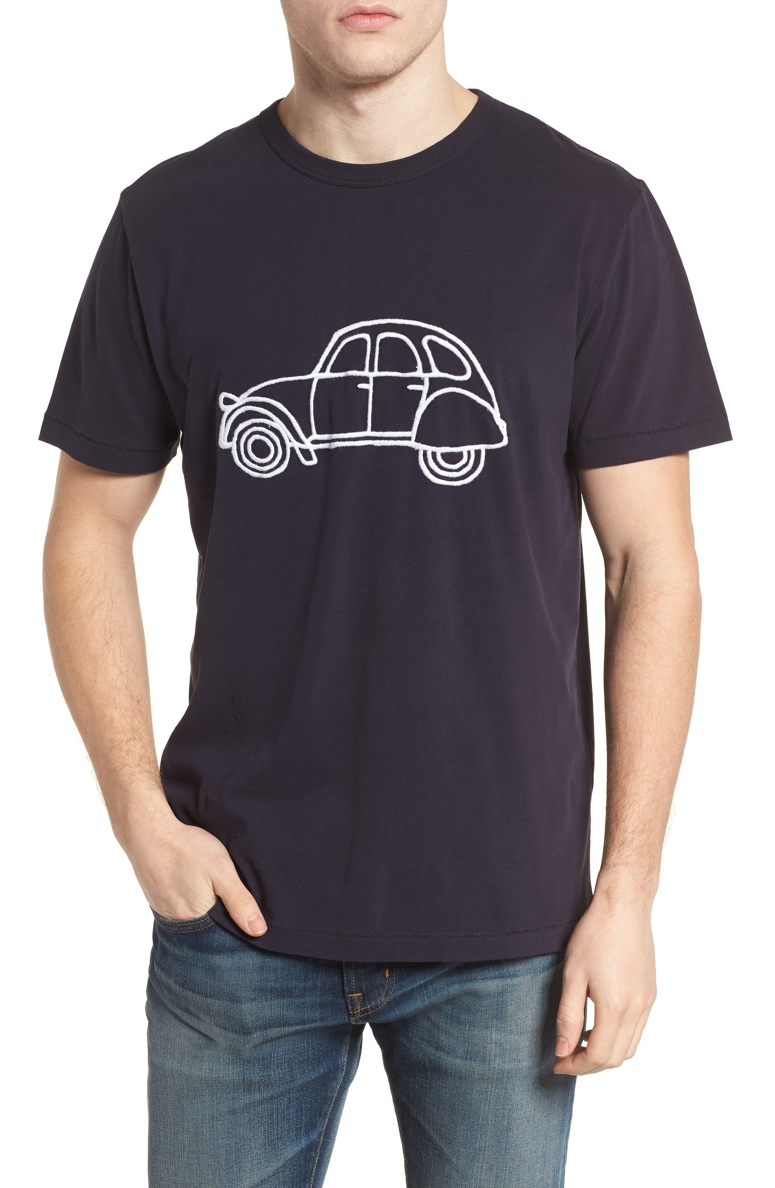 Car Slim Fit Crewneck T-Shirt,                         Main,                         color, 491