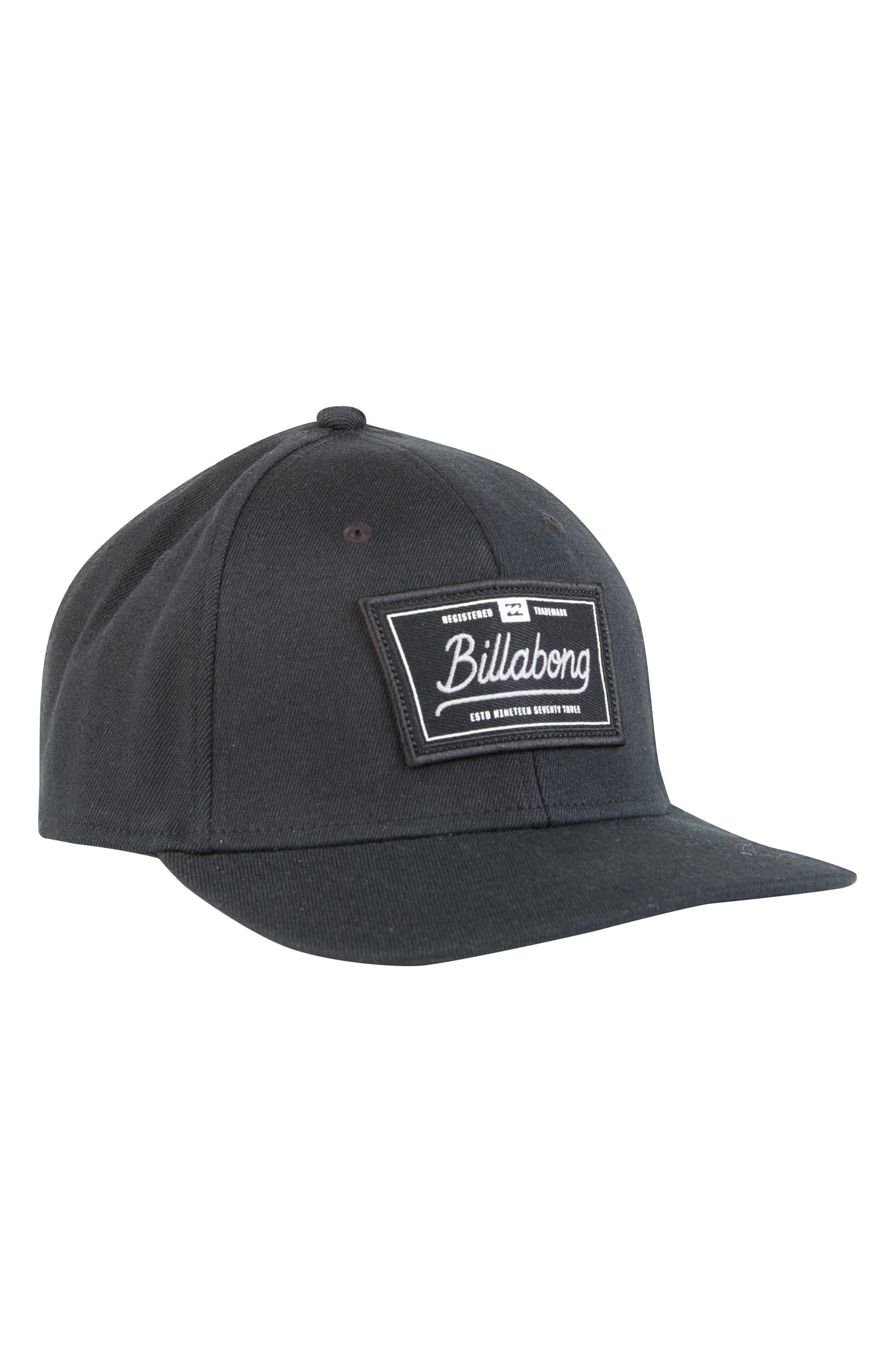 Walled Stretch Baseball Cap,                         Main,                         color, 001