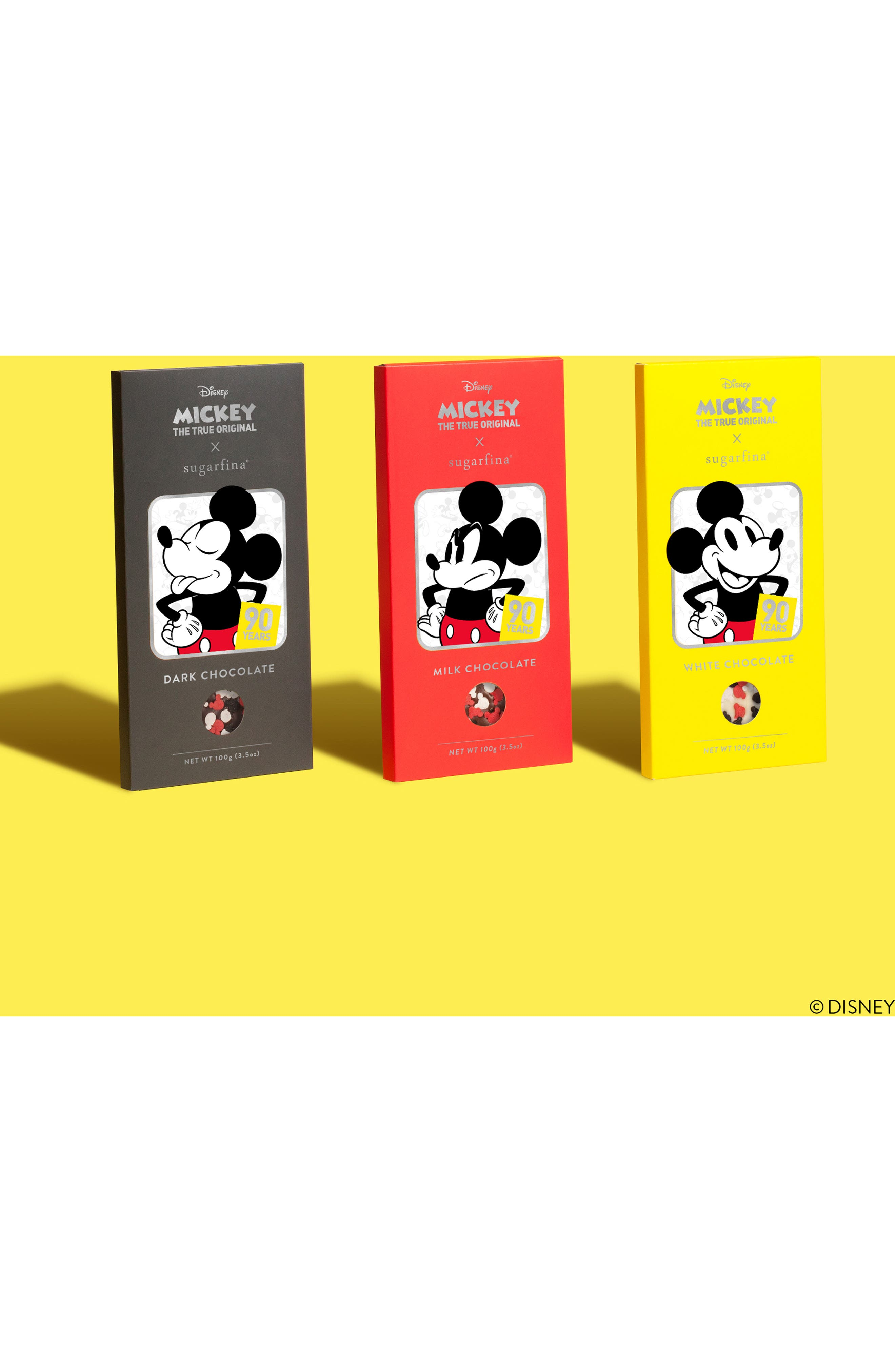 SUGARFINA,                             Mickey Chocolate Bar Trio,                             Alternate thumbnail 4, color,                             600