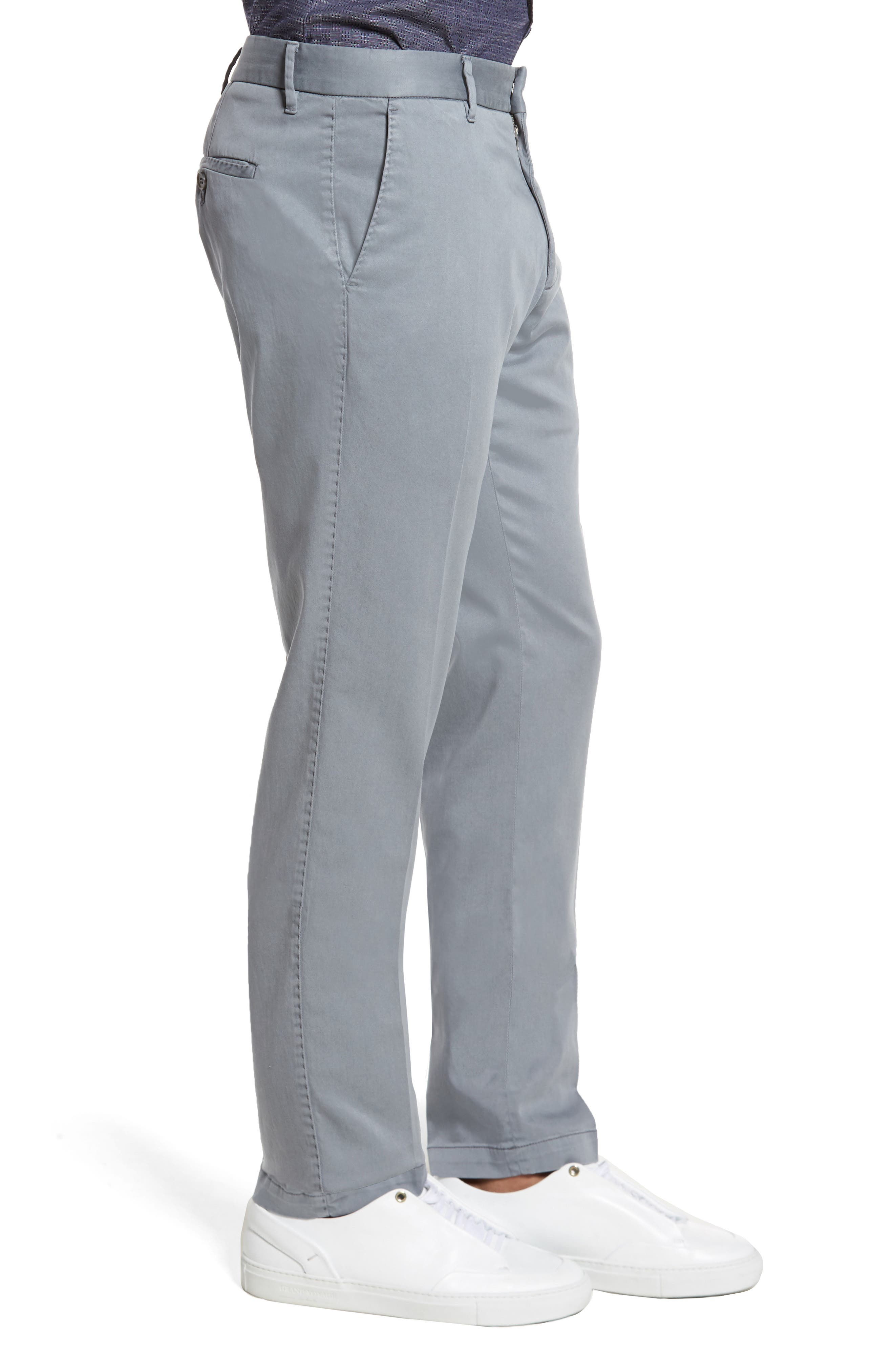Aster Straight Fit Pants,                             Alternate thumbnail 3, color,                             GREY