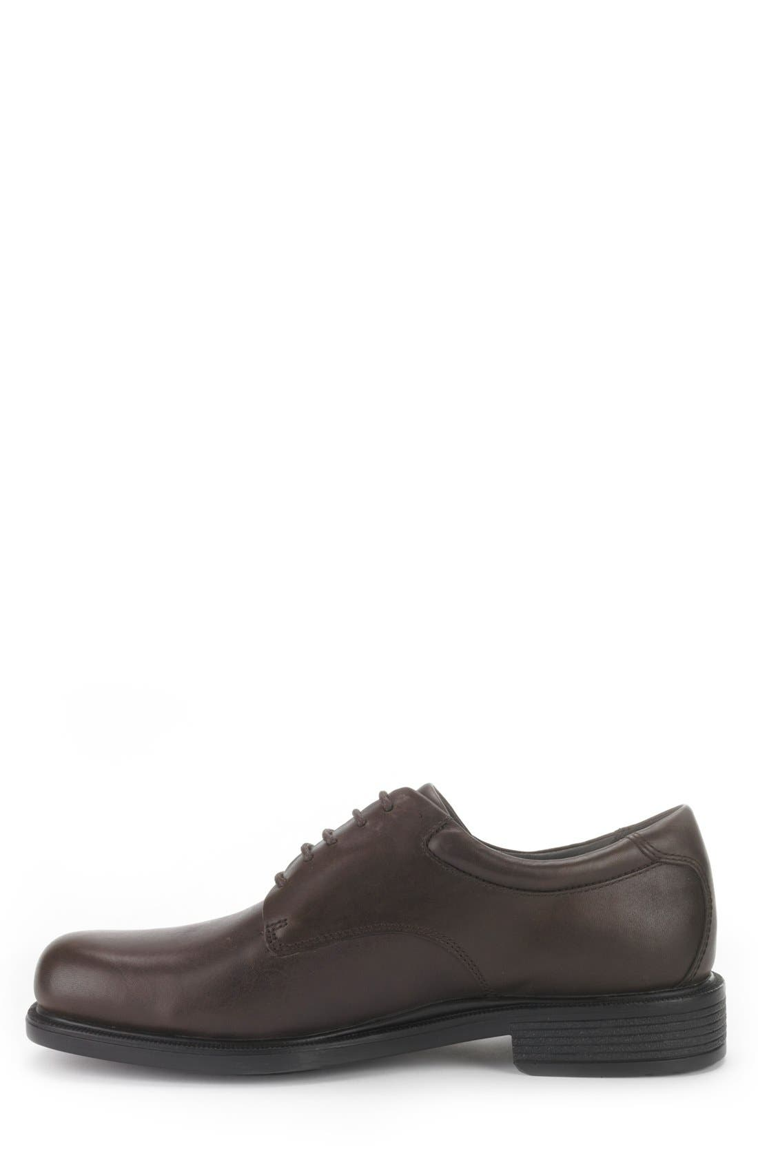 'Margin' Oxford,                             Alternate thumbnail 6, color,                             CHOCOLATE LEATHER