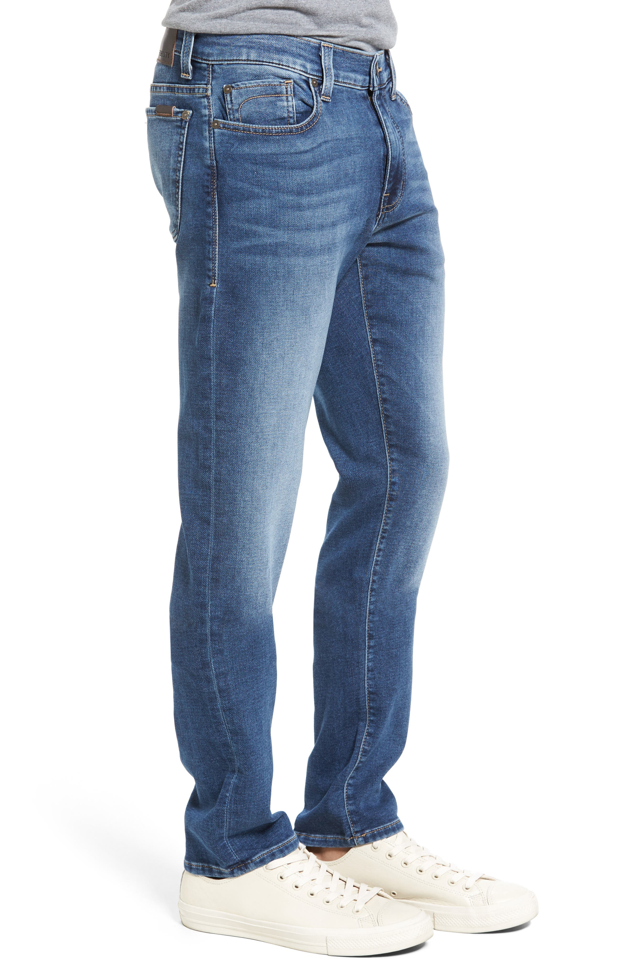Fideliety Denim Torino Slim Fit Jeans,                             Alternate thumbnail 3, color,                             424