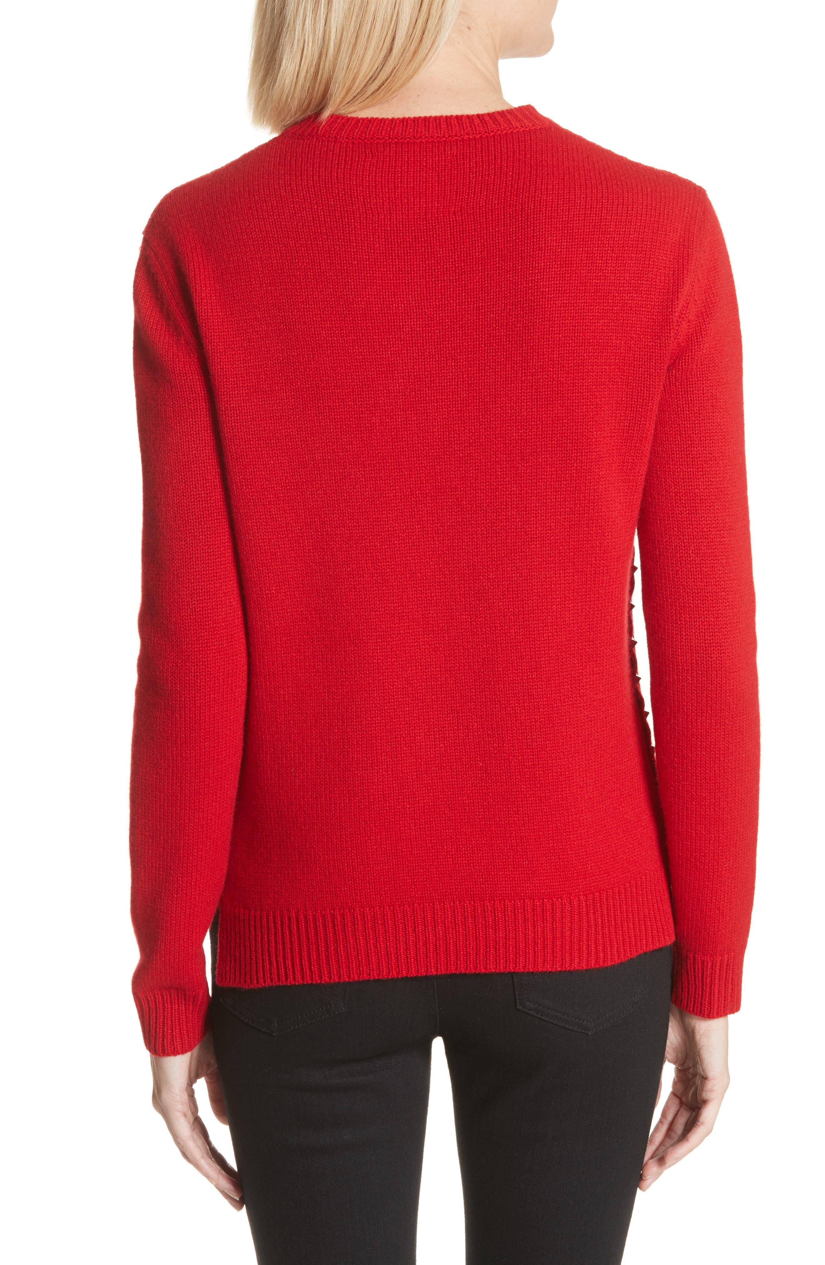 Rockstud Cashmere Sweater,                             Alternate thumbnail 2, color,                             610