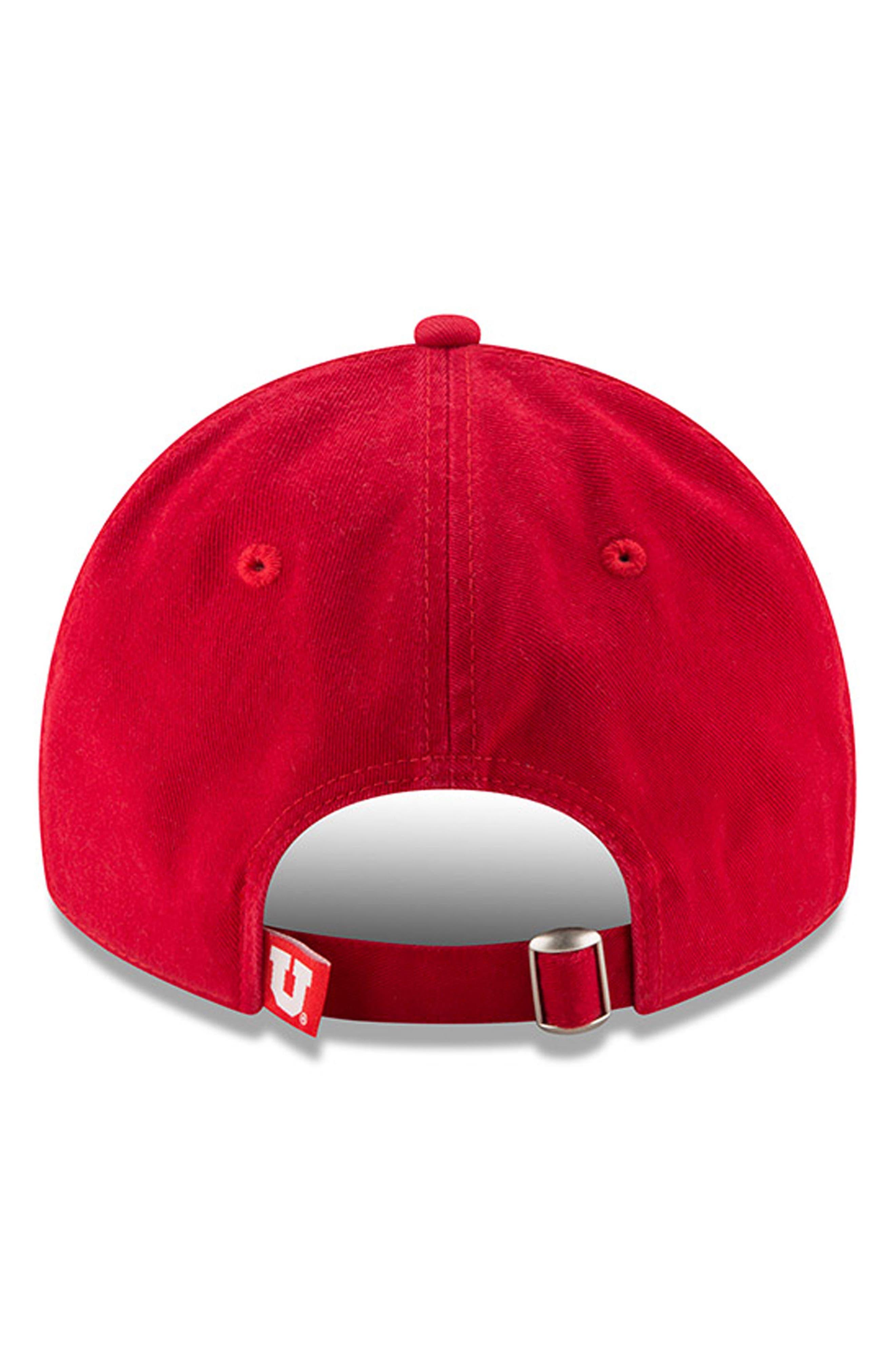 New Era Collegiate Core Classic - Utah Utes Baseball Cap,                             Alternate thumbnail 3, color,                             600