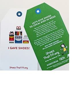Give New Shoes to Local Kids in Need