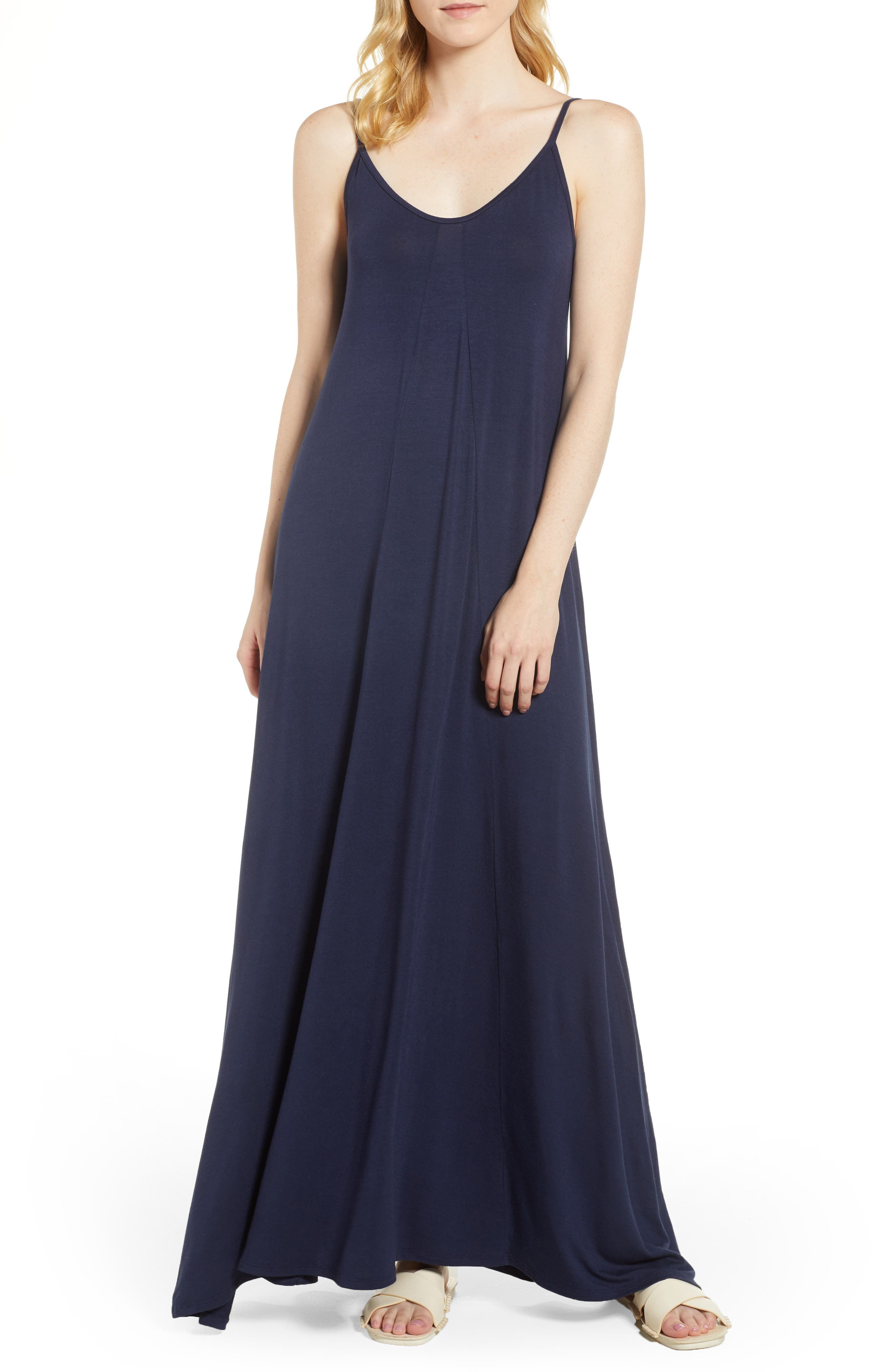 Petite Loveappella Maxi Dress, Blue