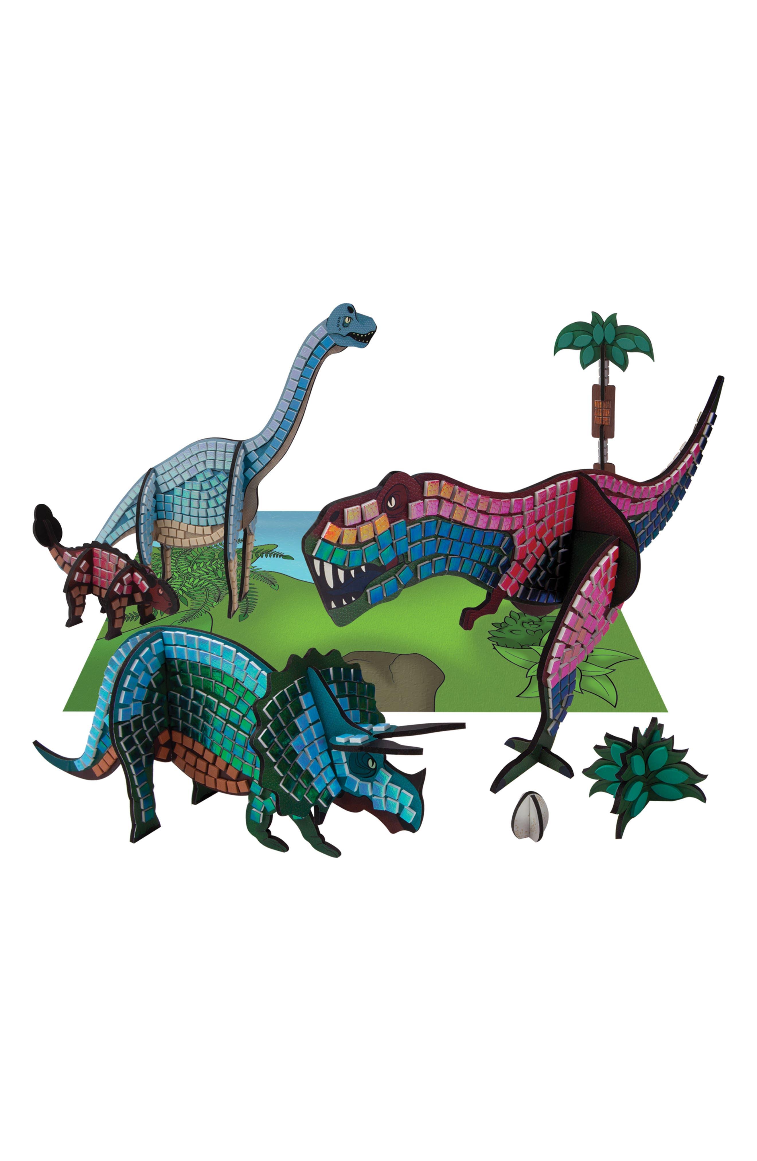 Sticky Mosaics - Dinosaurs Craft Kit,                             Alternate thumbnail 3, color,
