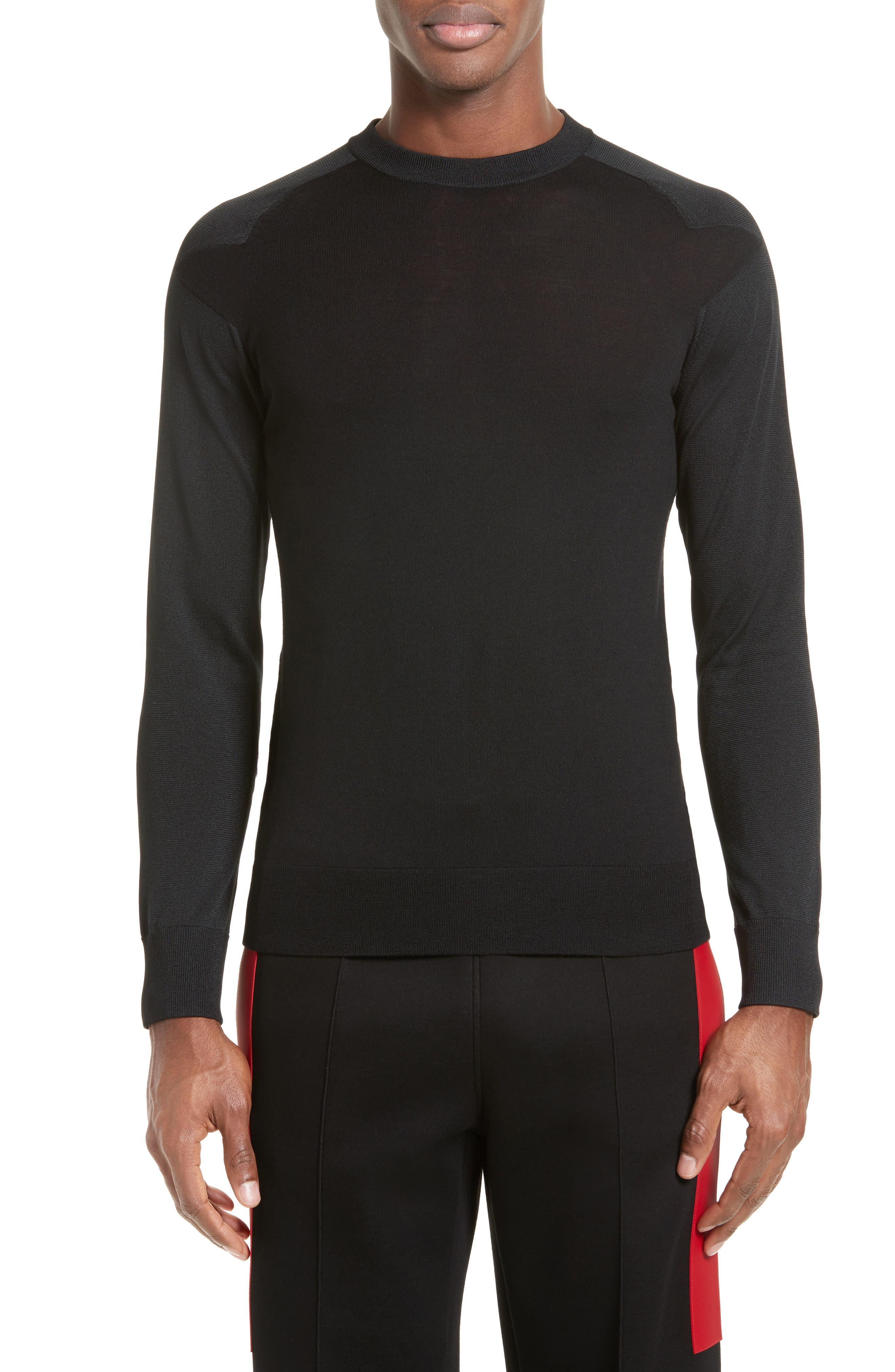 Star Shoulder Sweater,                         Main,                         color, 001