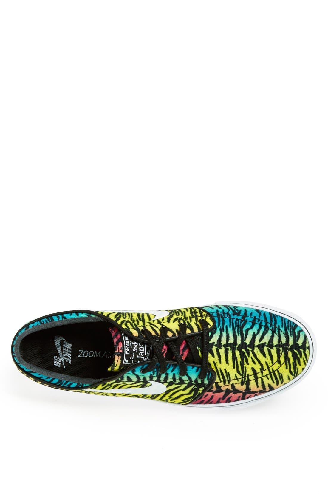 Zoom - Stefan Janoski SB Canvas Skate Shoe,                             Alternate thumbnail 85, color,