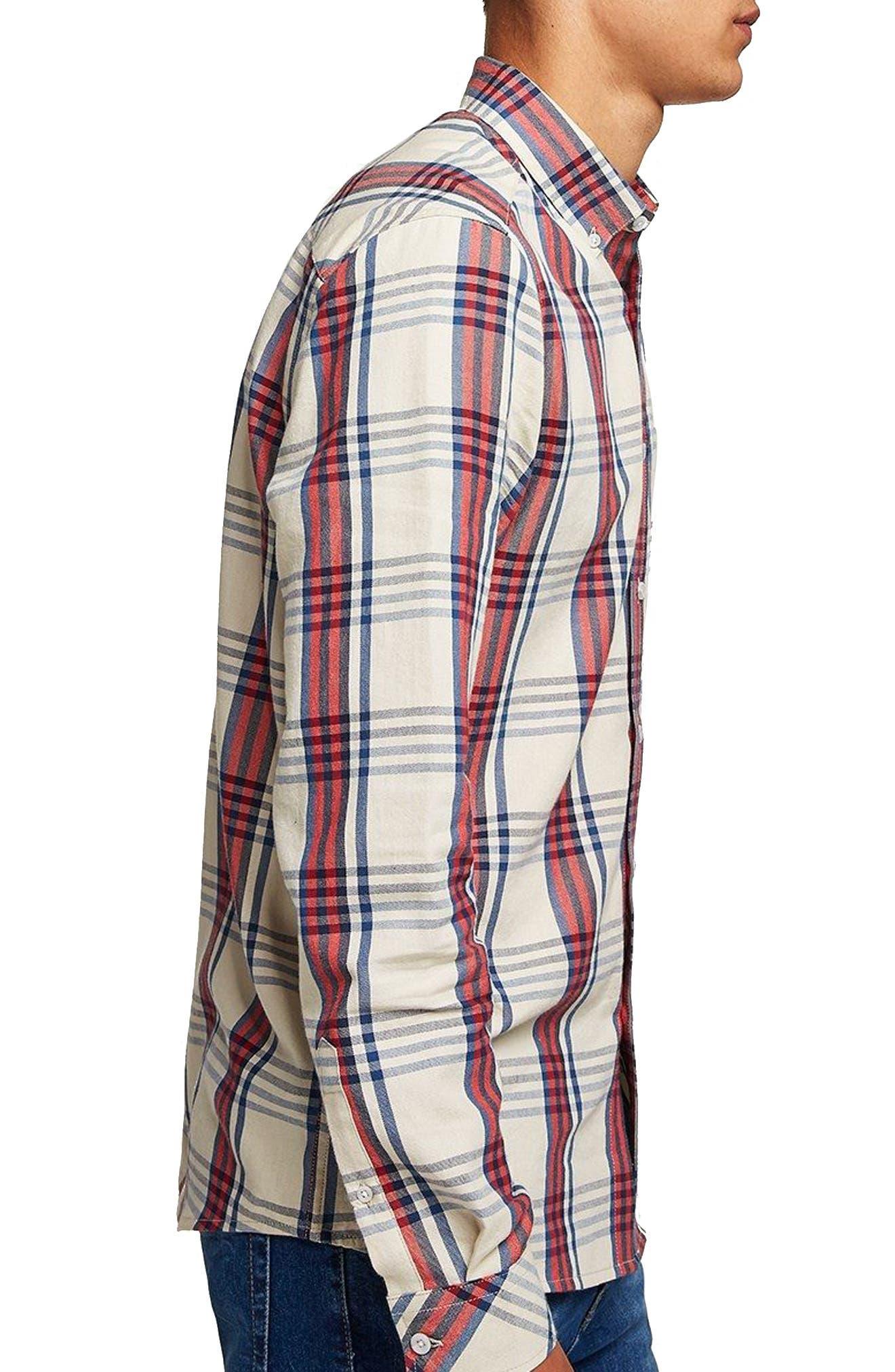 Check Shirt,                             Alternate thumbnail 3, color,                             250