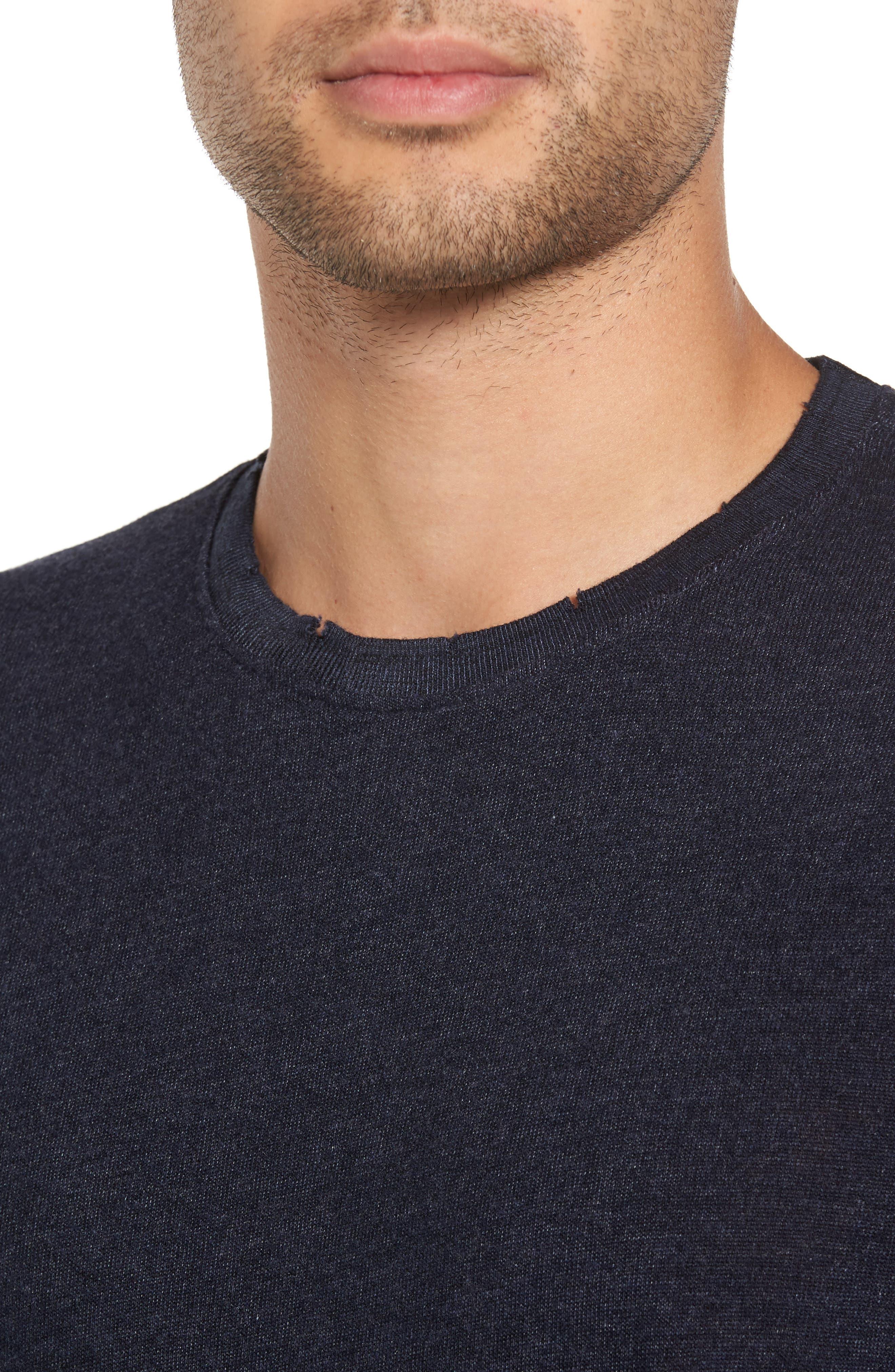 Core Crewneck T-Shirt,                             Alternate thumbnail 4, color,                             410