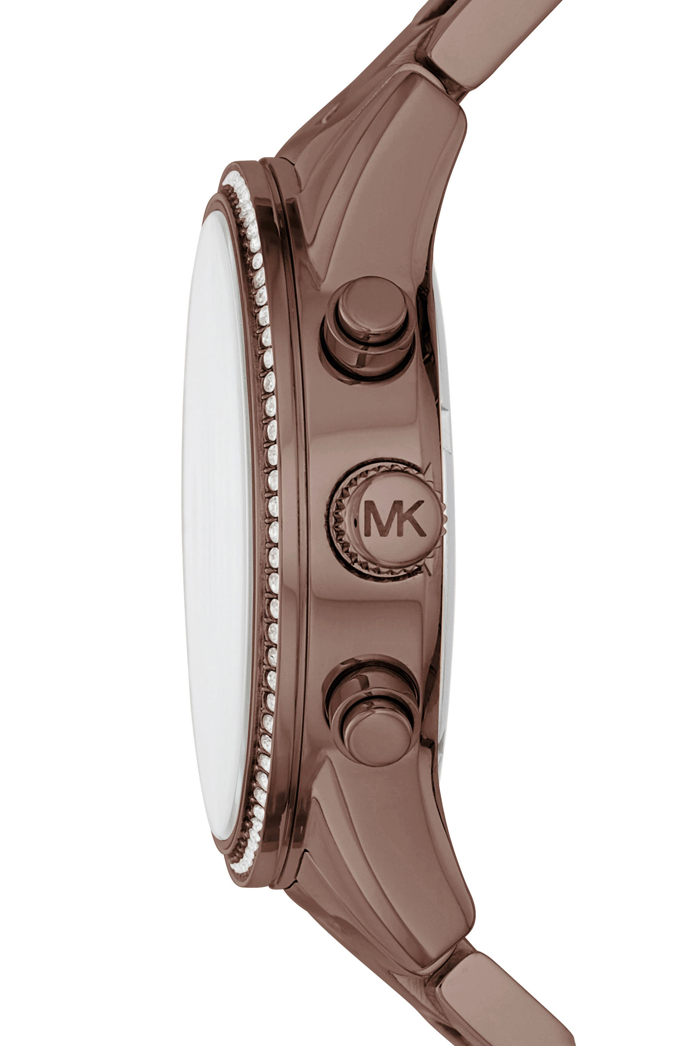 Ritz Chronograph Bracelet Watch, 37mm,                             Alternate thumbnail 7, color,