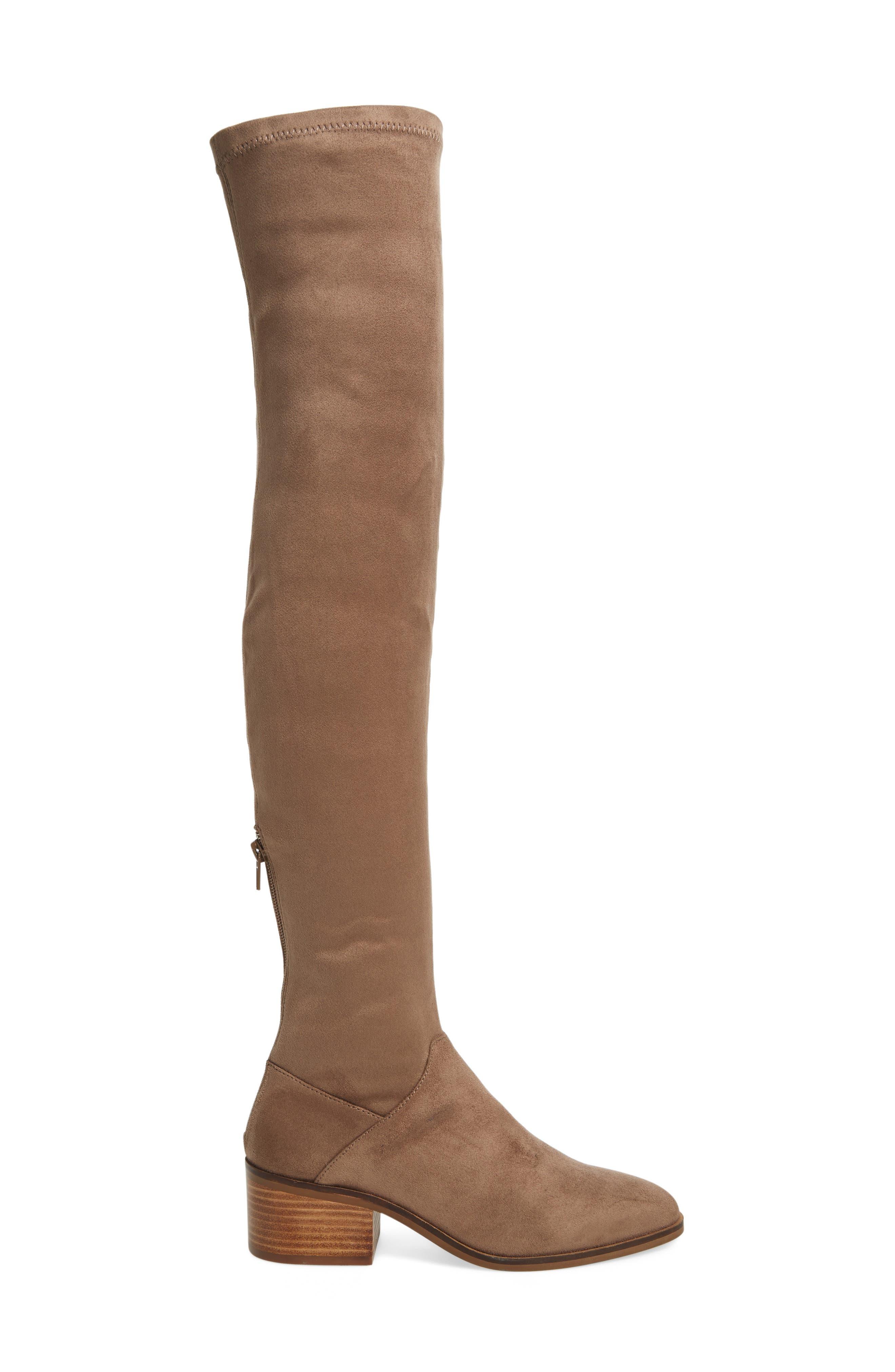 Gabbie Thigh High Boot,                             Alternate thumbnail 6, color,