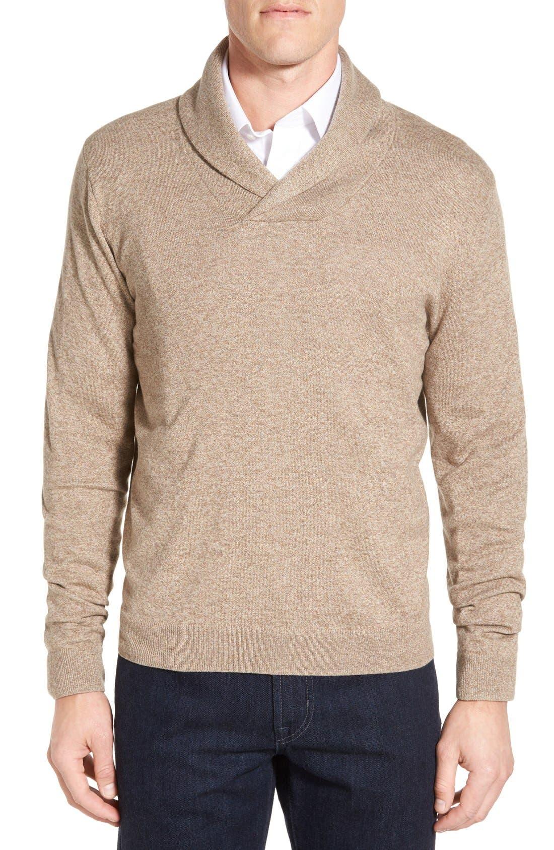 Men's Shop Shawl Collar Sweater,                             Main thumbnail 4, color,