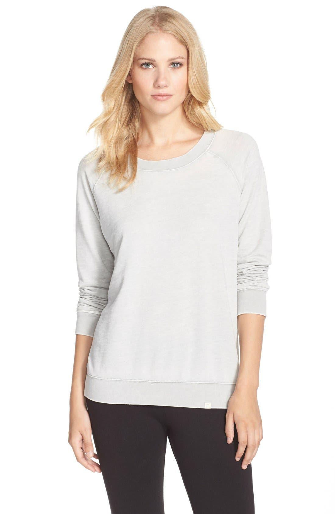 Burnout Lounge Sweatshirt,                             Main thumbnail 11, color,