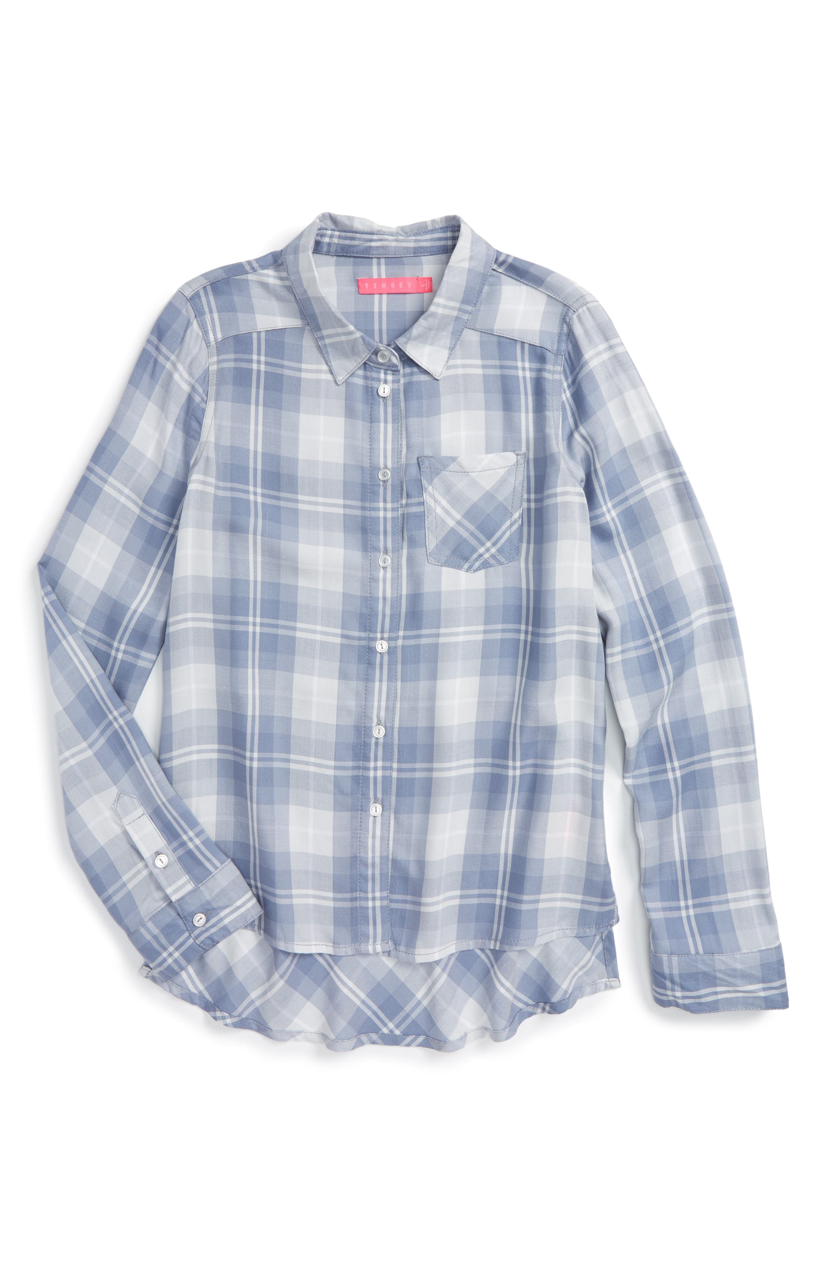 Fire Plaid Woven Shirt,                         Main,                         color, 400