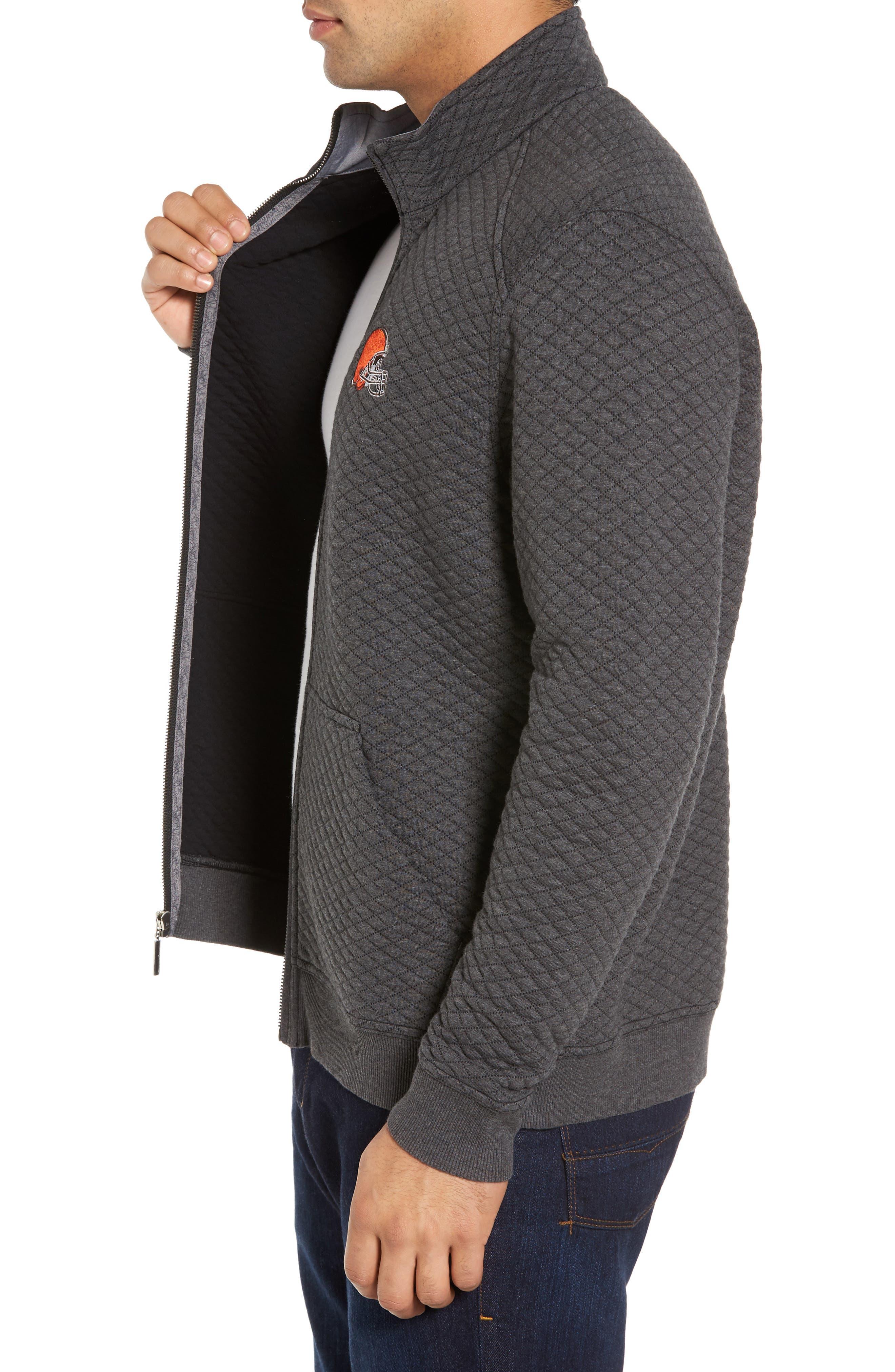 NFL Quiltessential Full Zip Sweatshirt,                             Alternate thumbnail 69, color,