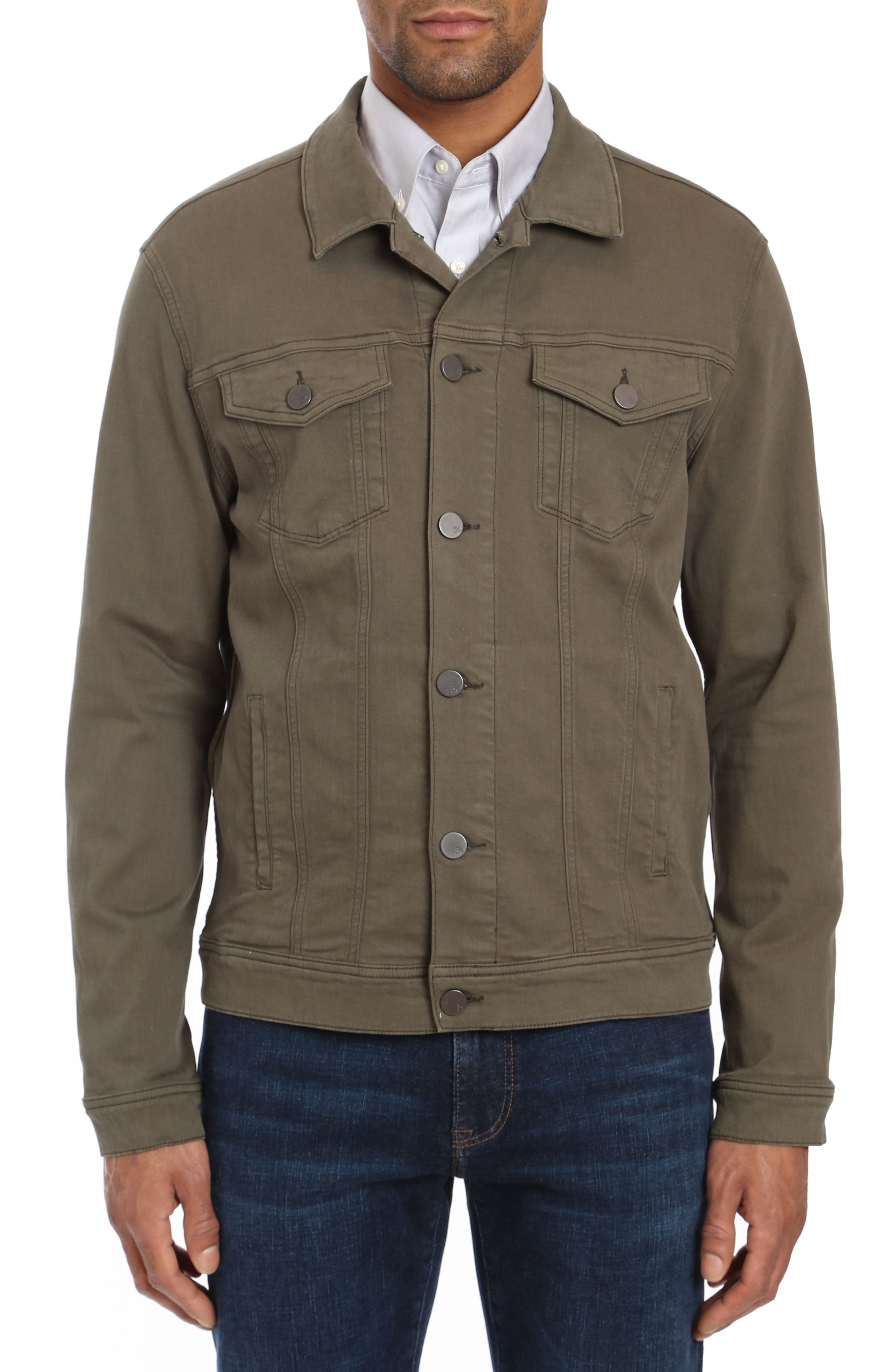 Travis Jacket,                             Main thumbnail 1, color,                             OLIVE TWILL