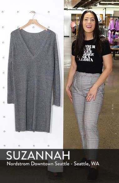 V-Neck Sweater Dress, sales video thumbnail