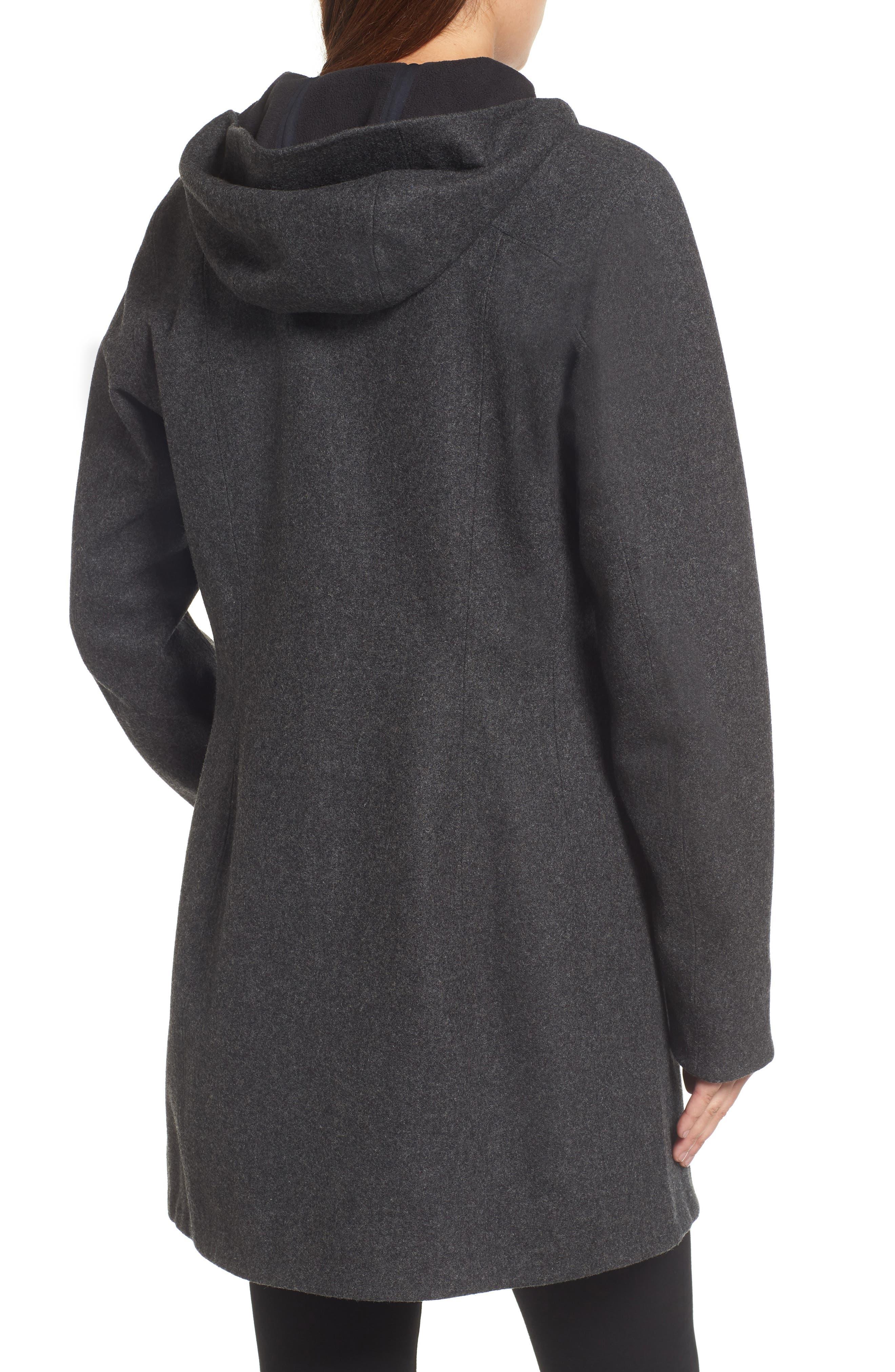Embra Hooded Walking Coat,                             Alternate thumbnail 2, color,                             001