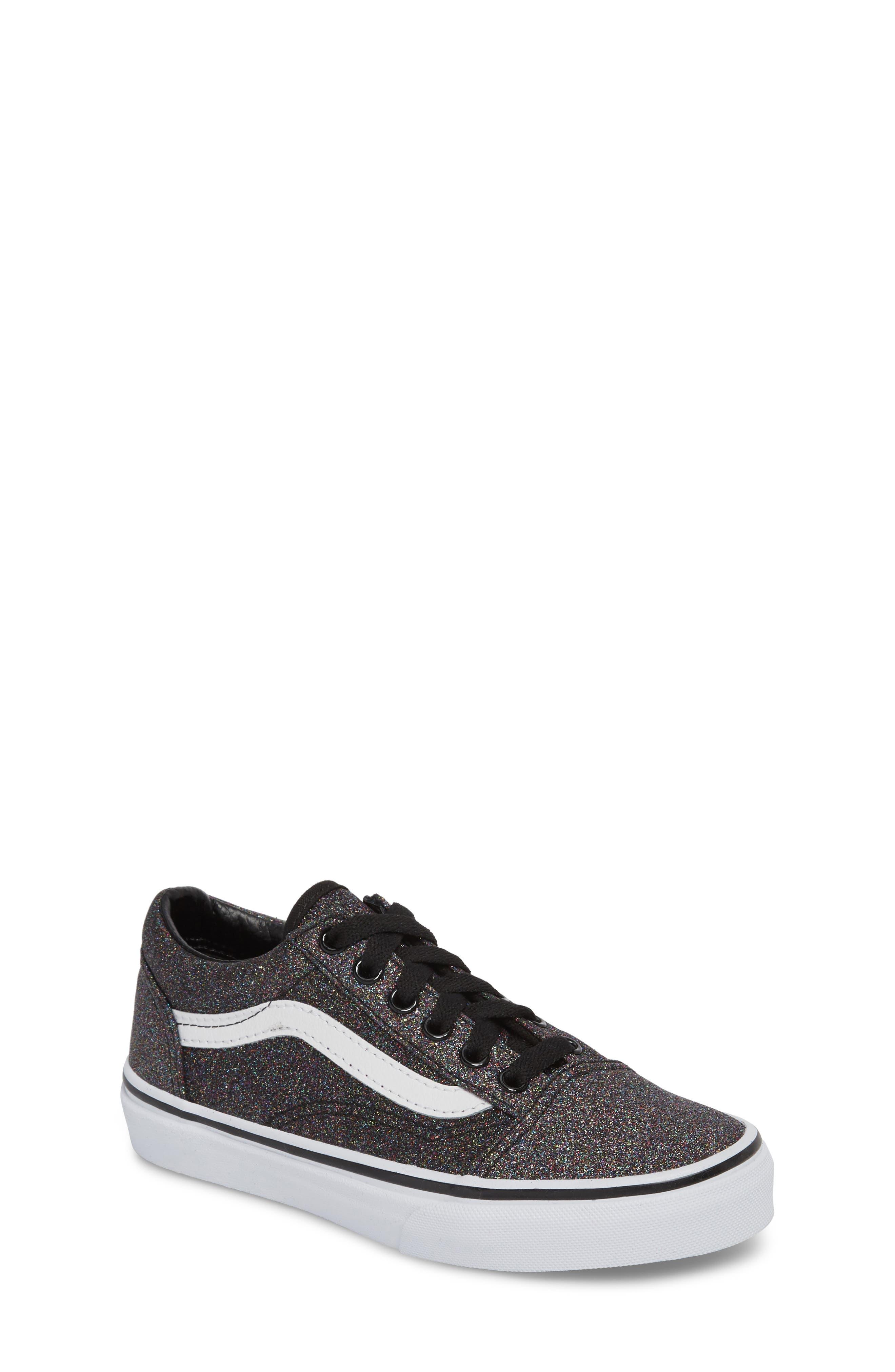 Toddler Girls Vans Old Skool Sneaker Size 12 M  Black