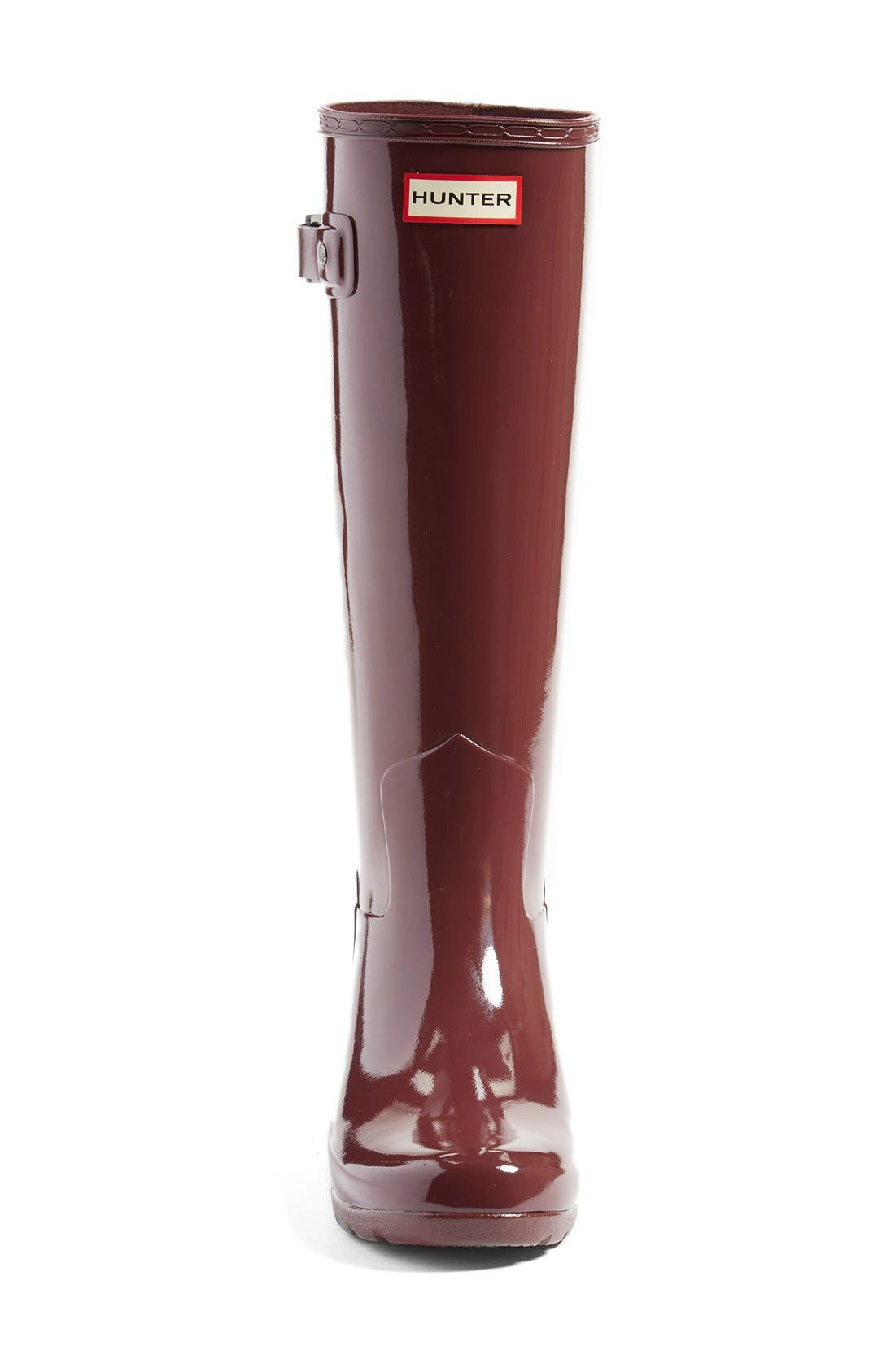 'Original Refined' High Gloss Rain Boot,                             Alternate thumbnail 29, color,