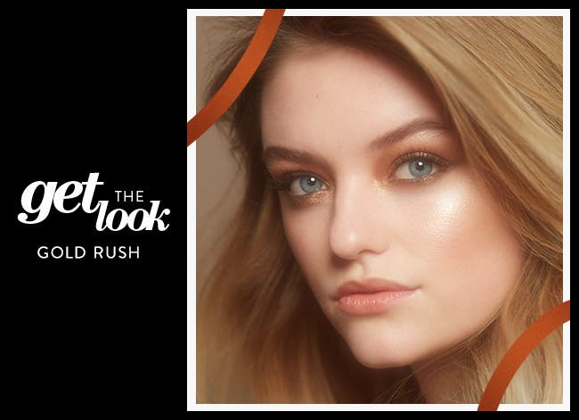 Get the Look: Gold Rush.