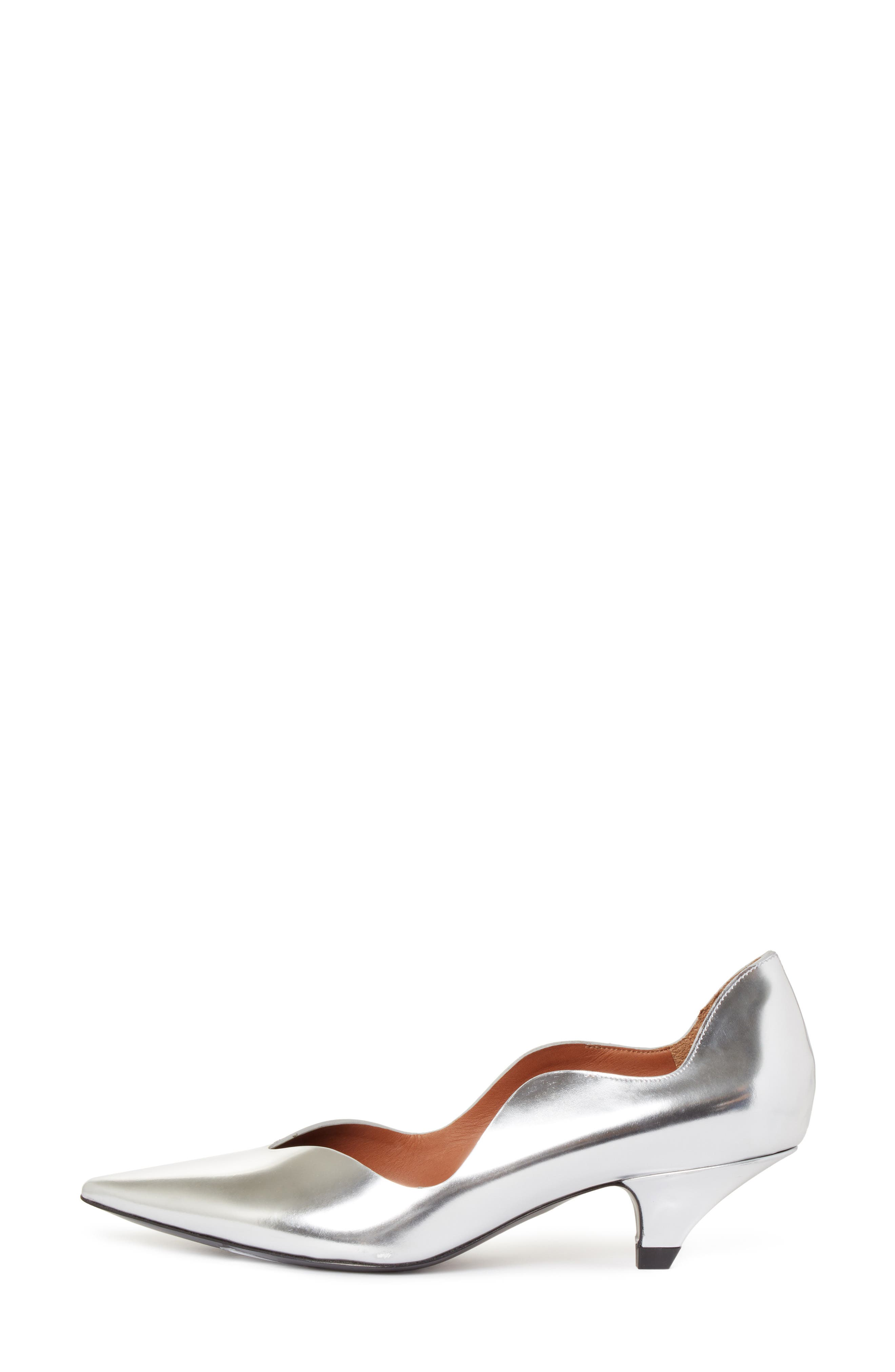 Wave Pointy Toe Pump,                             Alternate thumbnail 3, color,                             040