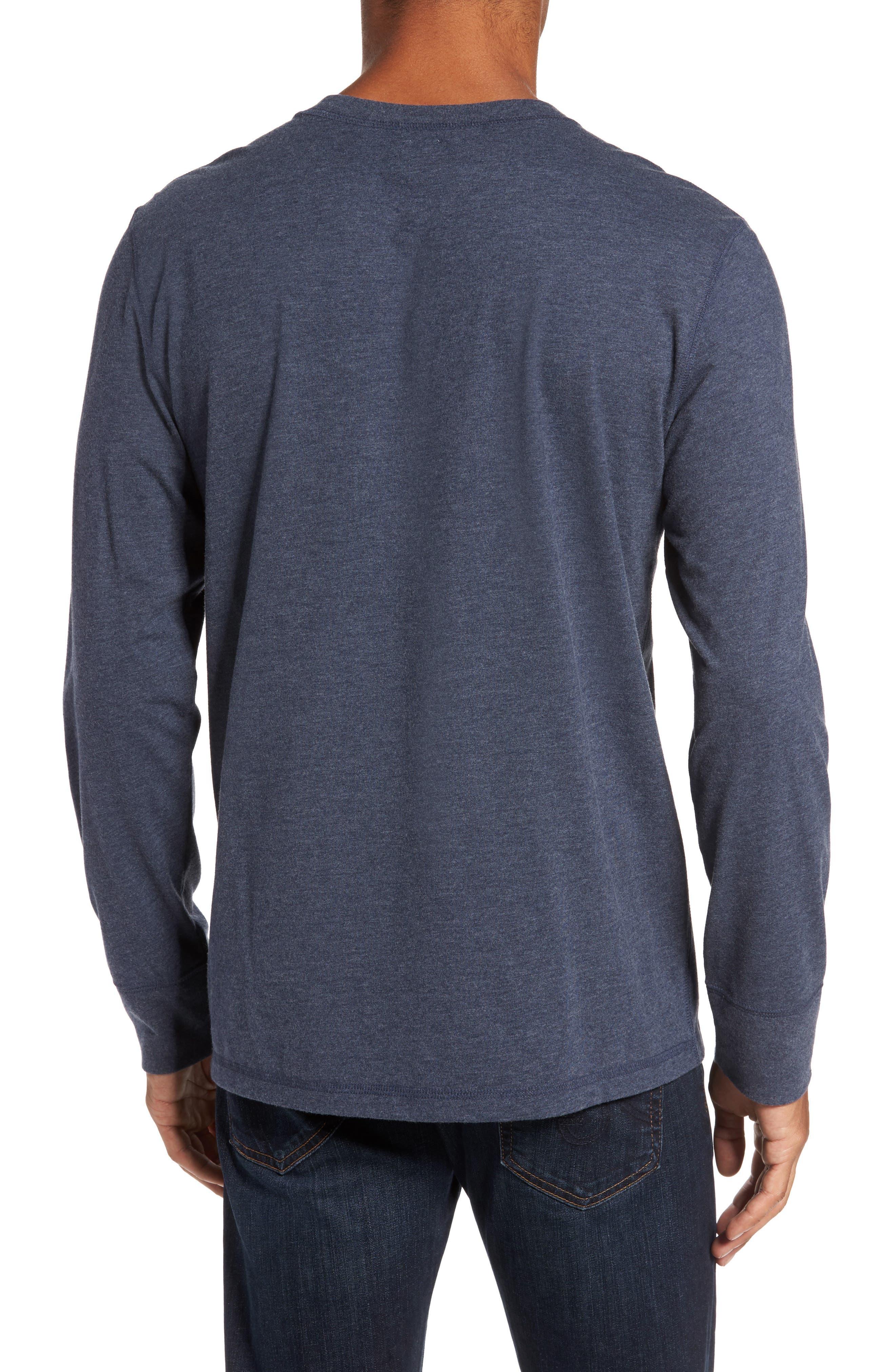 Notch Long Sleeve T-Shirt,                             Alternate thumbnail 4, color,