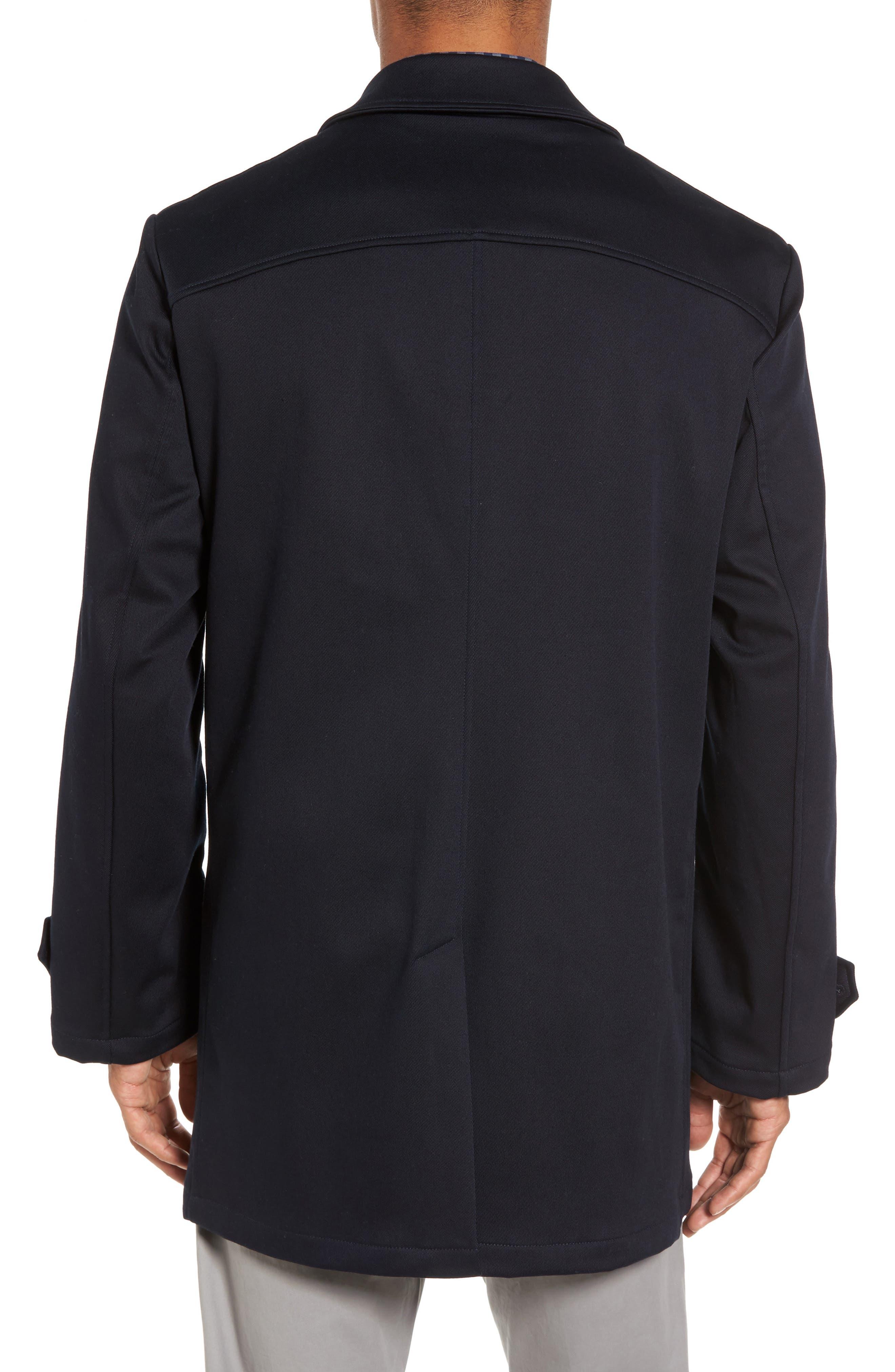 Grayson Stretch Cotton Blend Car Coat,                             Alternate thumbnail 2, color,