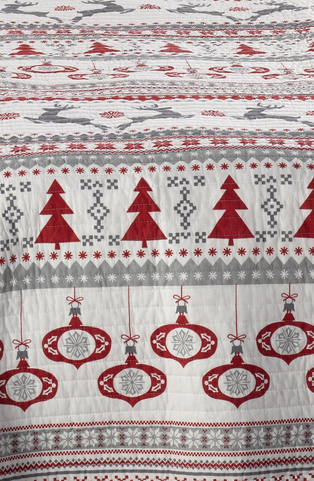 LEVTEX,                             'Silver Bells' Reversible Quilt,                             Alternate thumbnail 2, color,                             600