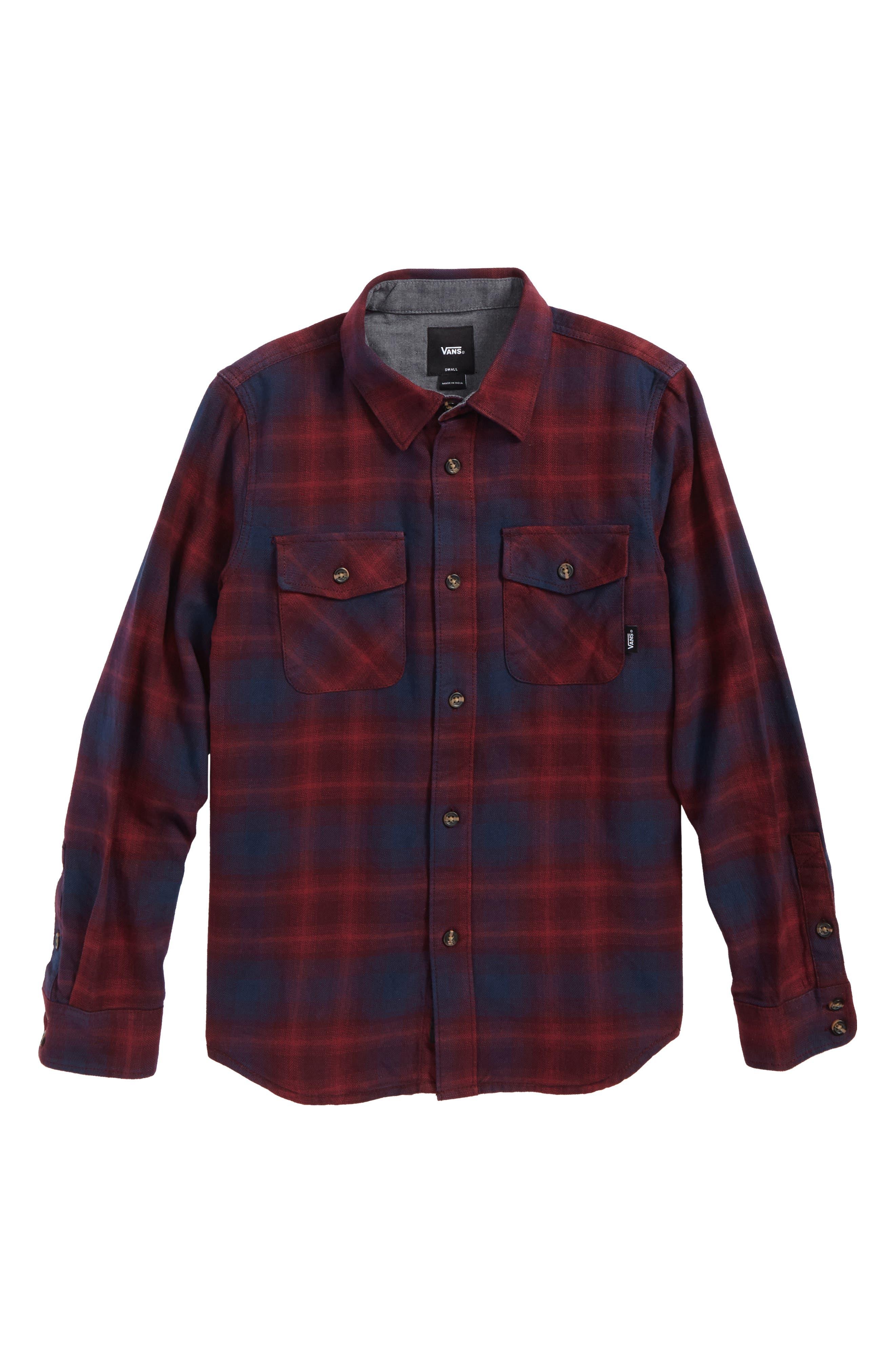 Monterey II Plaid Flannel Shirt,                             Main thumbnail 2, color,